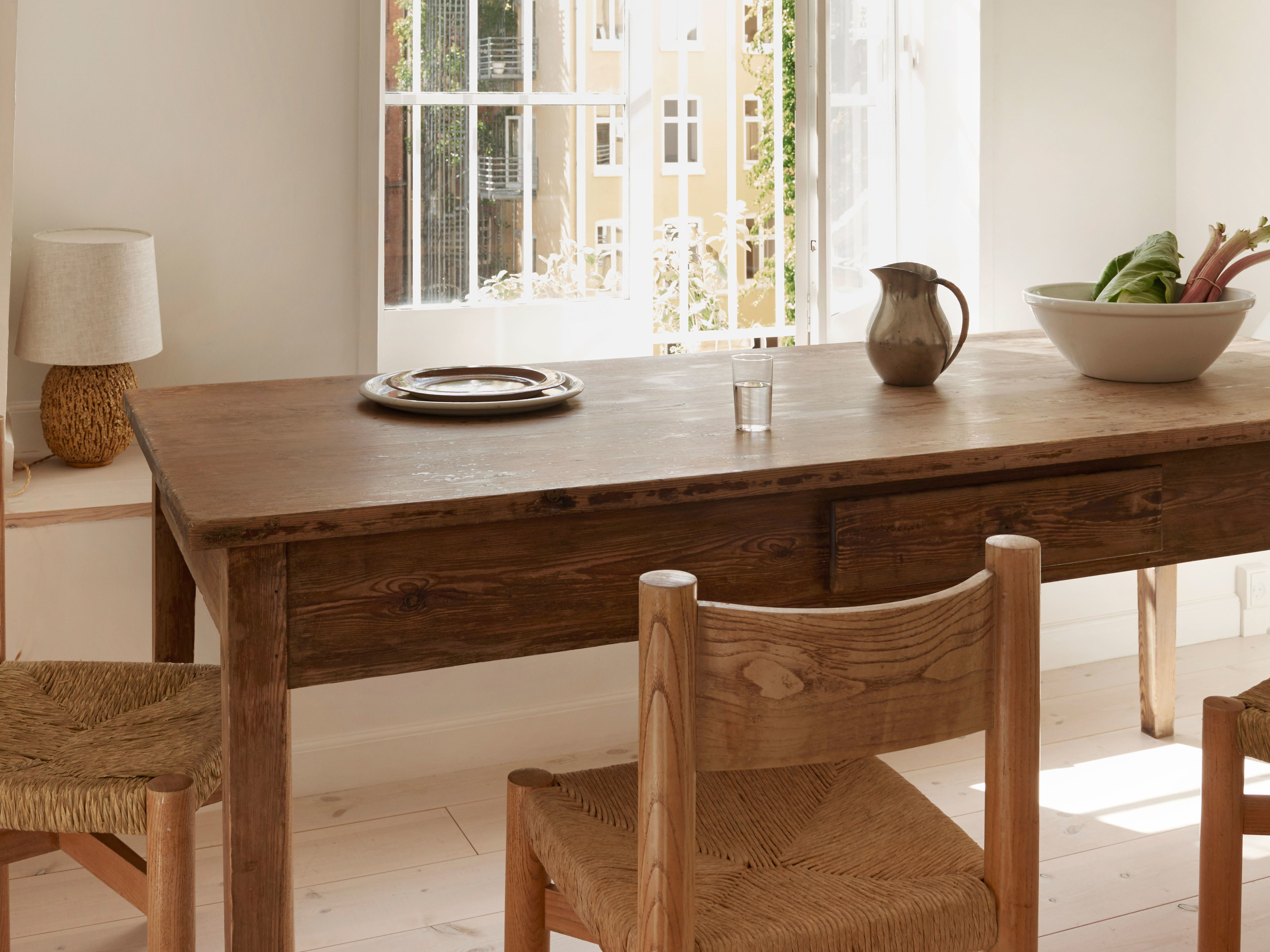 Falmer 3 Piece Solid Wood Dining Sets Inside Latest A Farm Table Sent Us Into Debt (#4 of 20)