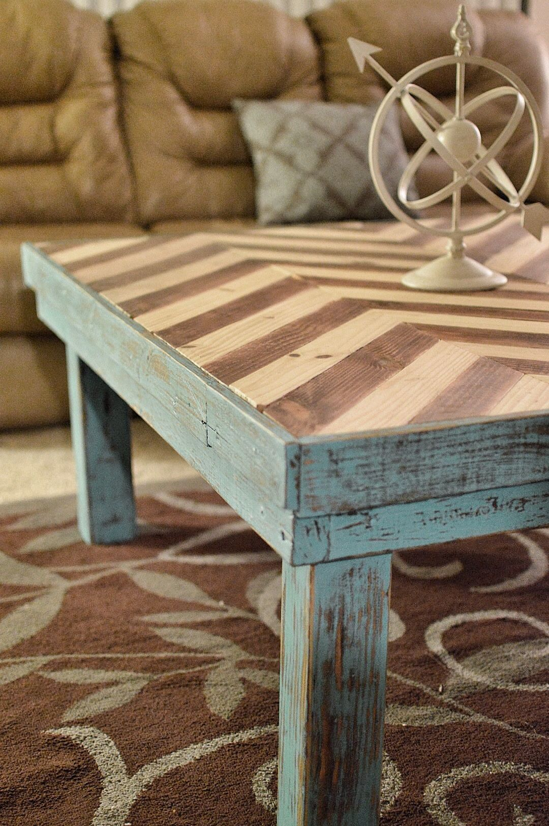 Famous Chevron Table Top (#9 of 20)