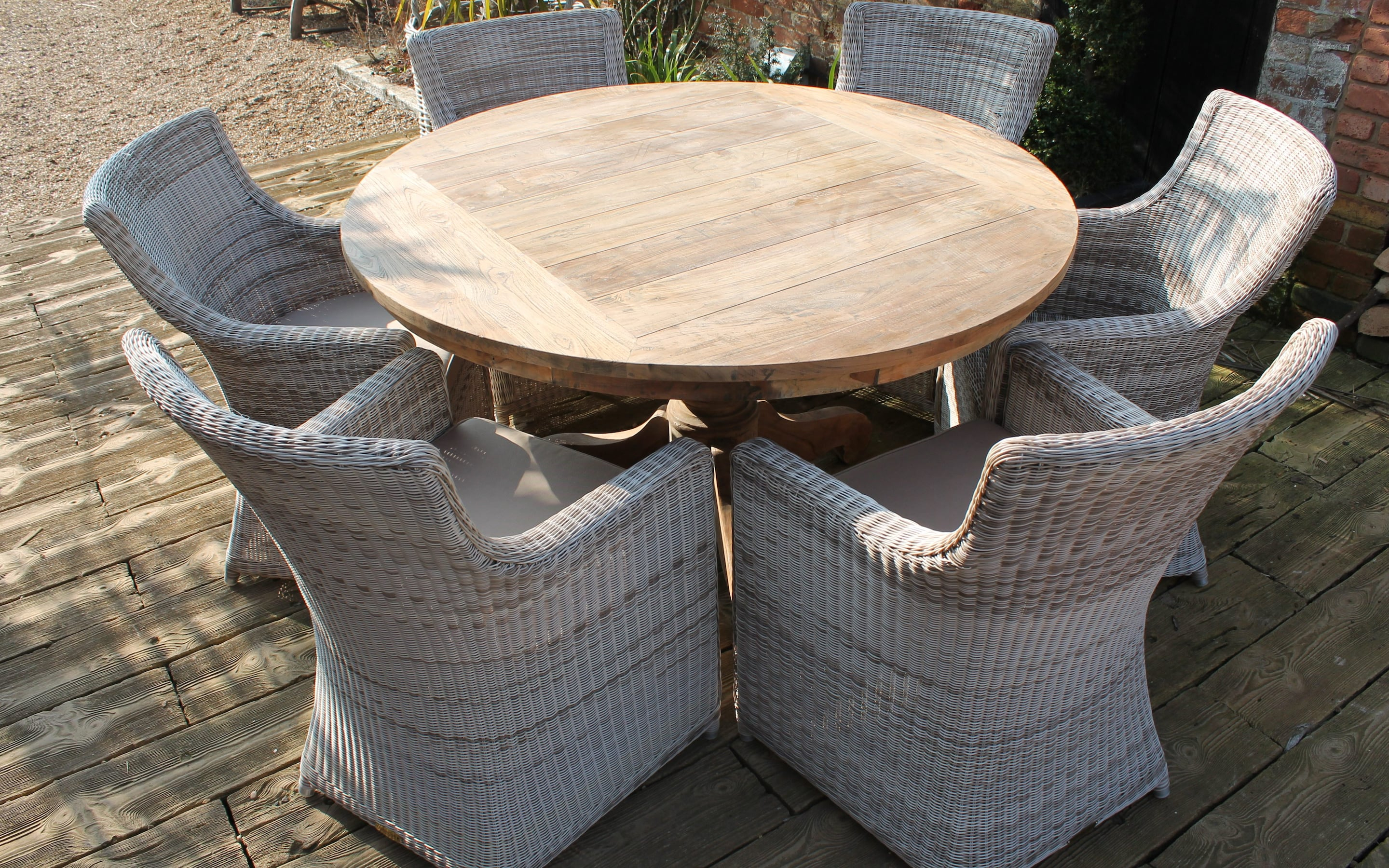 Famous North Reading 5 Piece Dining Table Sets With Best Rattan Garden Furniture – And Where To Buy It (#3 of 20)