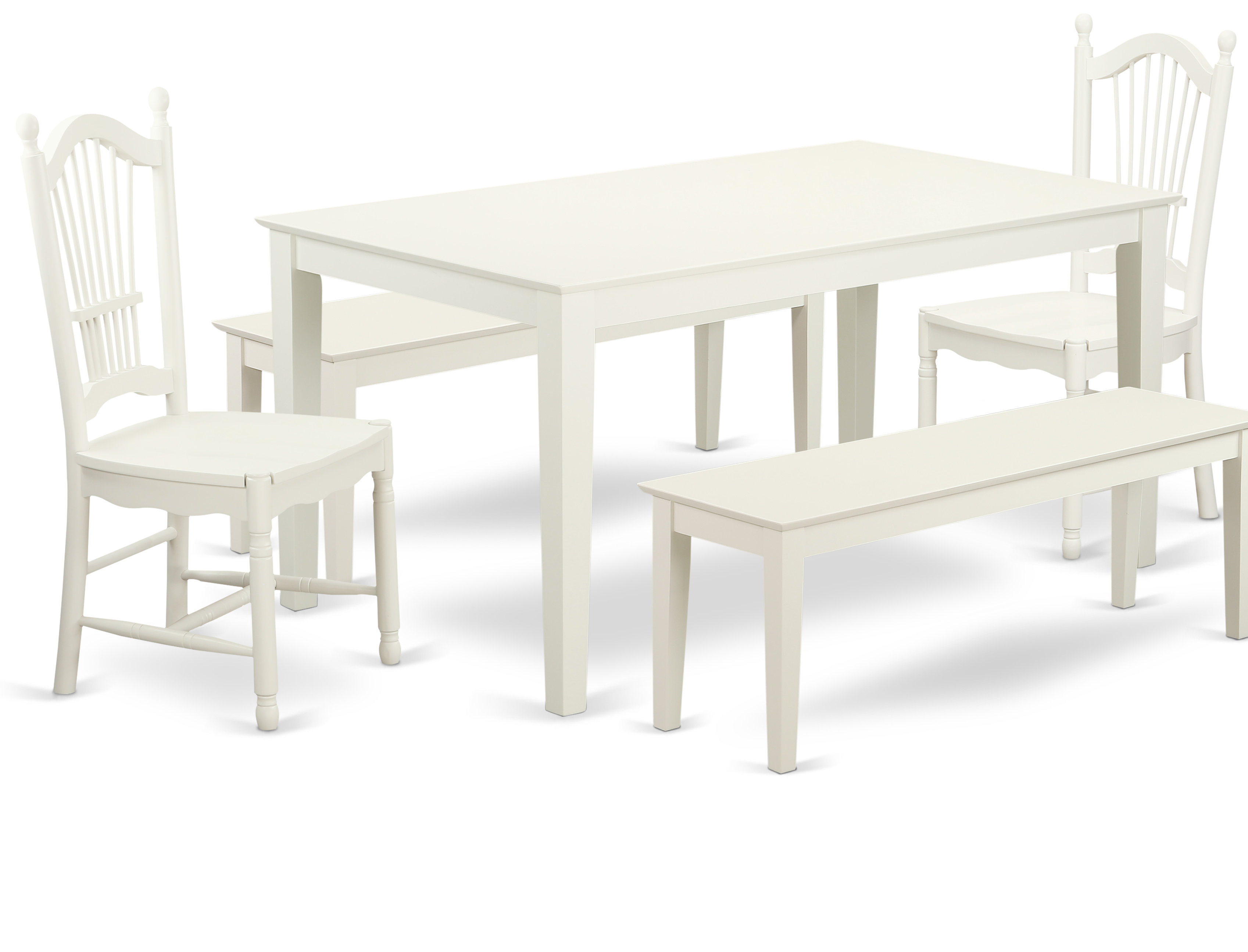 Famous Smyrna 3 Piece Dining Sets Pertaining To Charlton Home Smyrna 5 Piece Solid Wood Dining Set (View 20 of 20)
