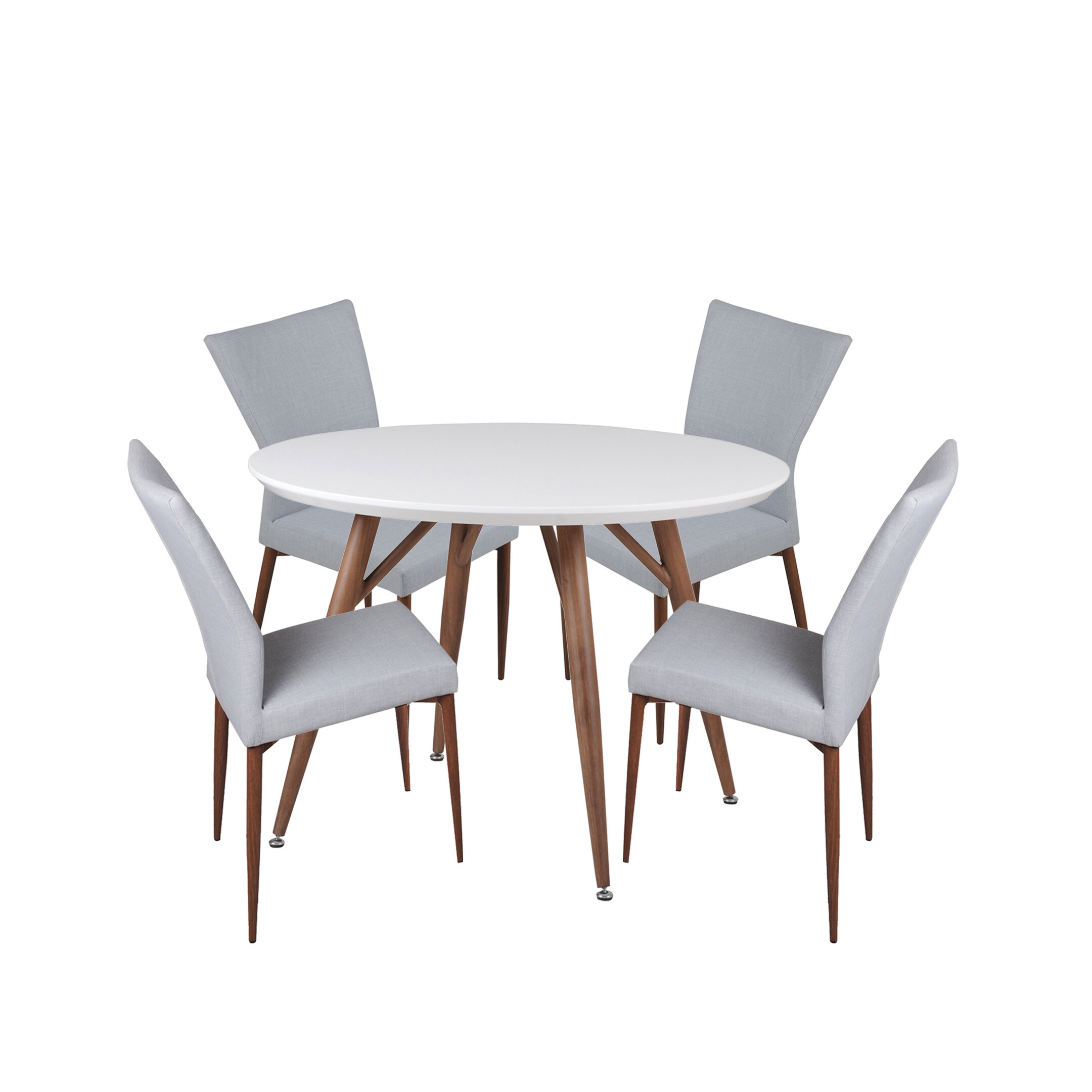 Fashionable 5 Piece Breakfast Nook Dining Sets Regarding Corrigan Studio Brandyn 5 Piece Breakfast Nook Dining Set (#8 of 20)