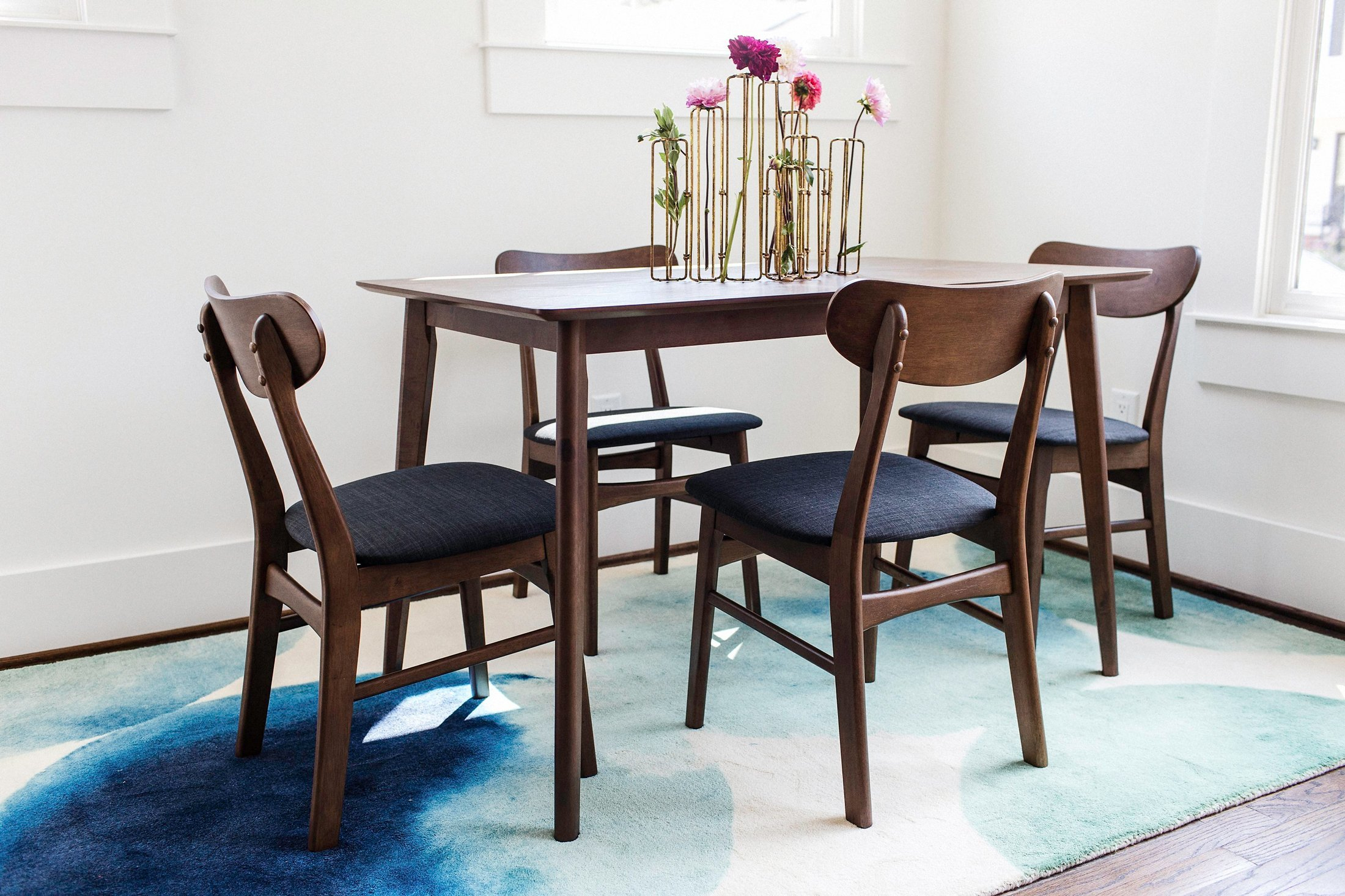 Fashionable 5 Piece Breakfast Nook Dining Sets Within George Oliver Velazquez 5 Piece Breakfast Nook Dining Set & Reviews (#5 of 20)