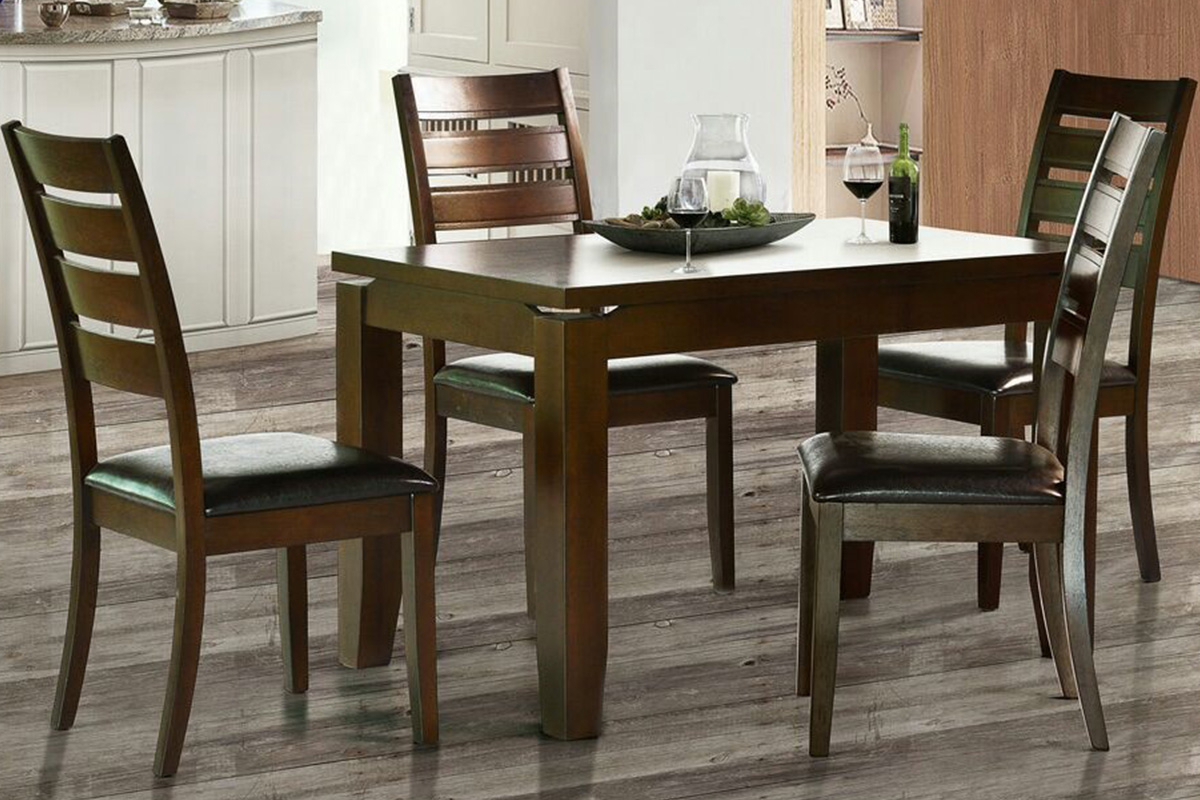 Fashionable Calla 5 Piece Dining Sets Inside Dining Sets Archives – Furniture Palace (#8 of 20)
