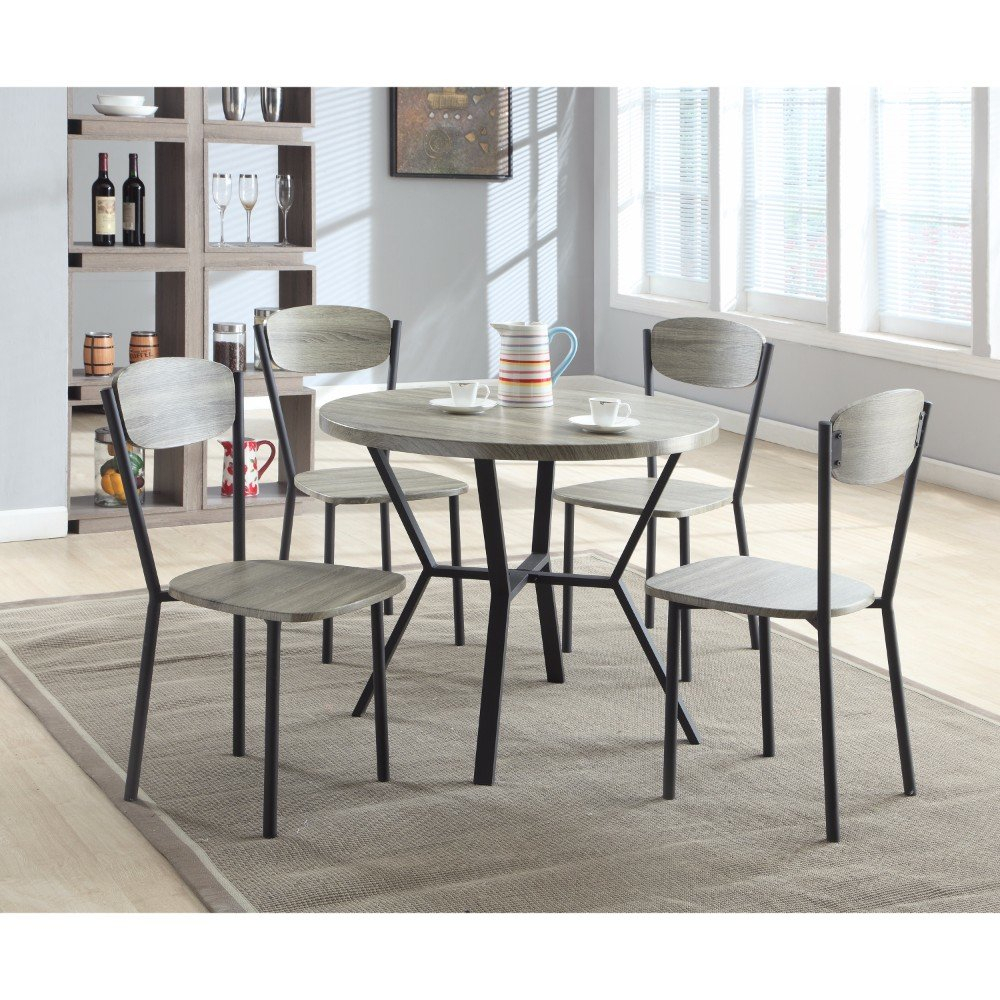 Fashionable Williston Forge Merrifield 5 Piece Round Dining Set (View 14 of 20)
