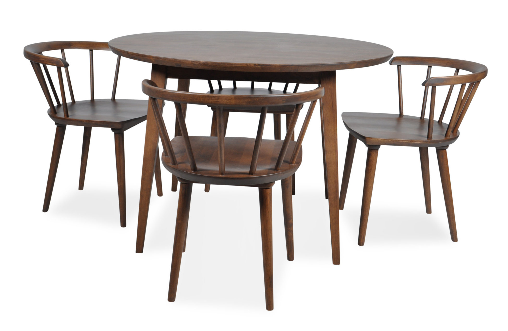 Favorite 5 Piece Breakfast Nook Dining Sets For Burgan 5 Piece Solid Wood Breakfast Nook Dining Set & Reviews (#9 of 20)