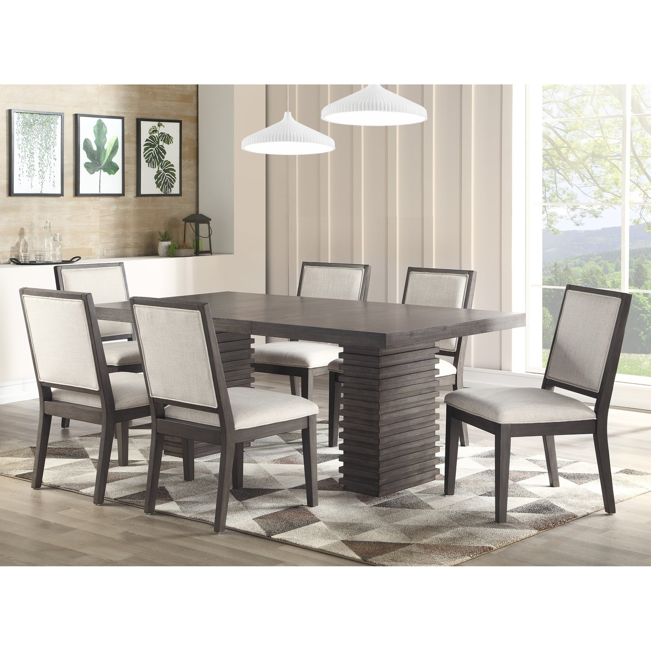 Favorite Buy 6 Piece Sets Kitchen & Dining Room Sets Online At Overstock With Osterman 6 Piece Extendable Dining Sets (Set Of 6) (#4 of 20)