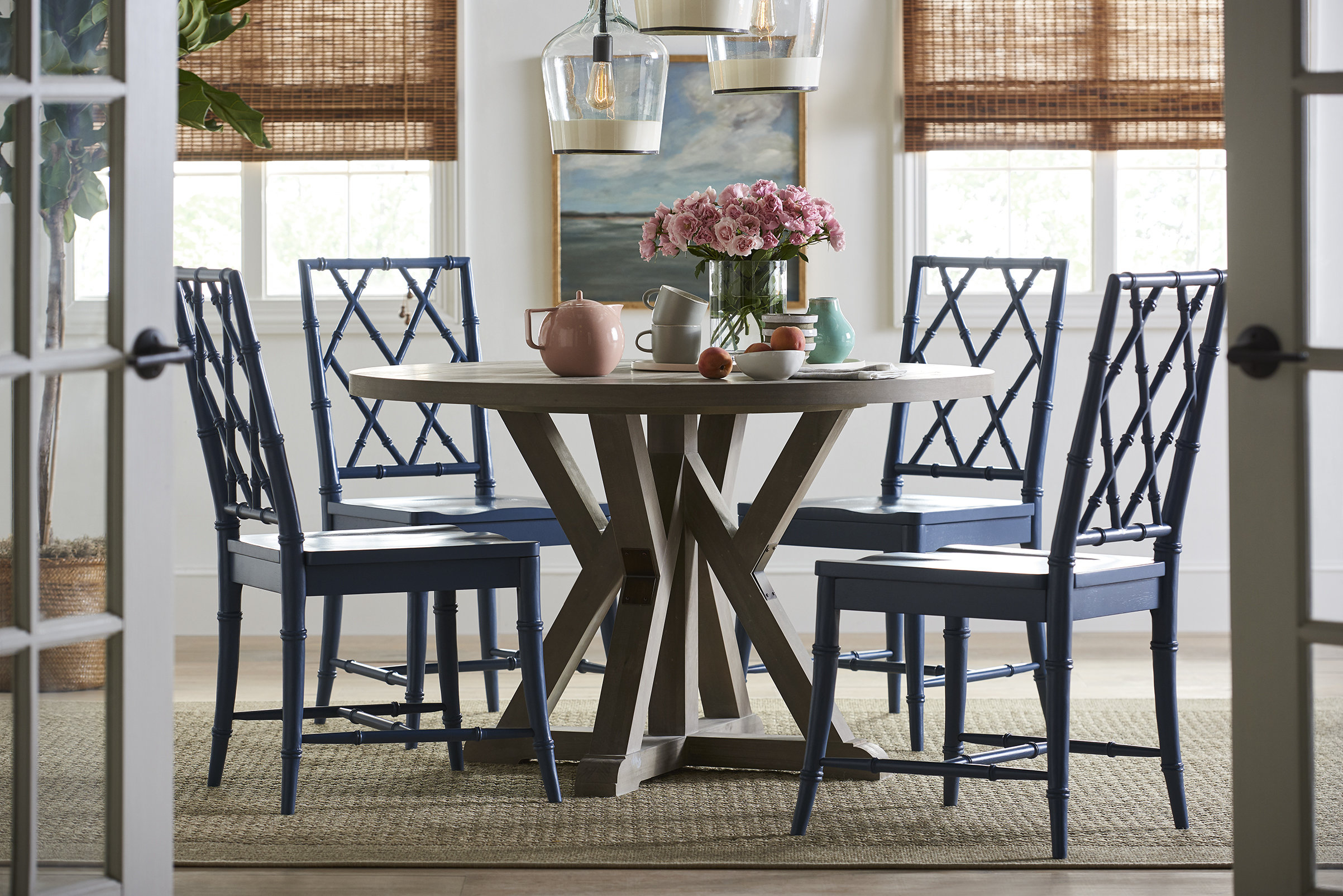Favorite Saintcroix 3 Piece Dining Sets Pertaining To Younghouselove 5 Piece Dining Set & Reviews (#5 of 20)