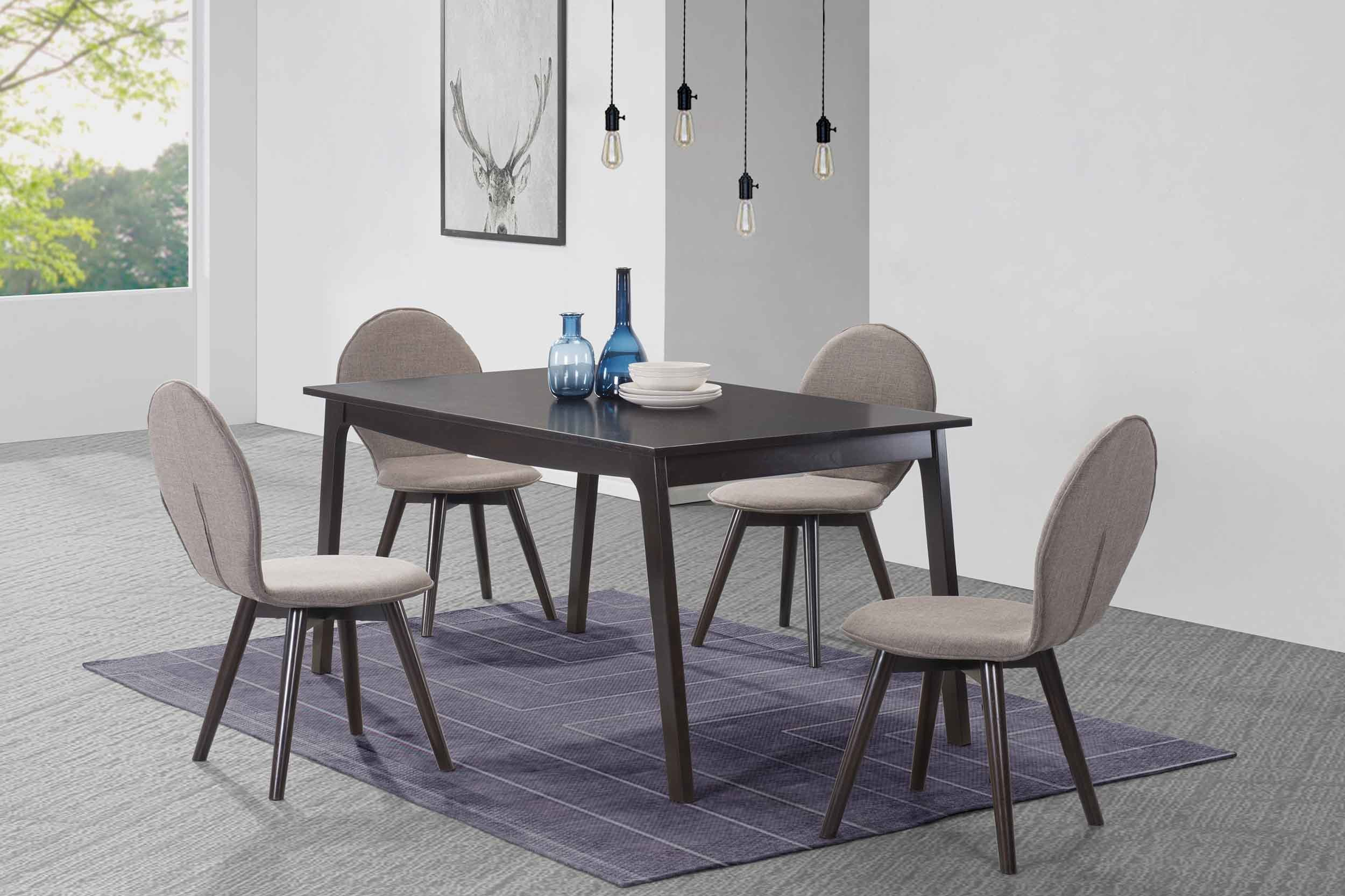 George Oliver Baney 5 Piece Dining Set (View 15 of 20)
