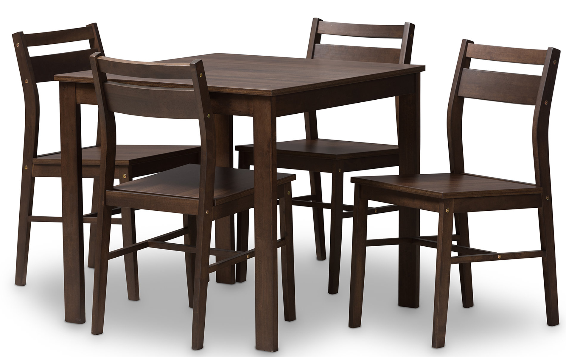 Hersom 5 Piece Dining Set & Reviews (View 17 of 20)