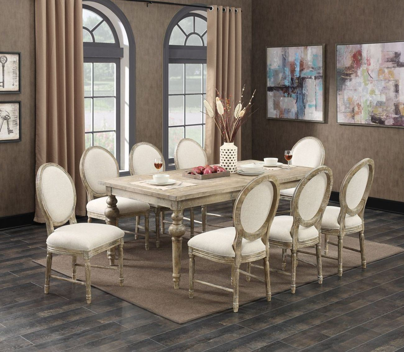 Interlude 5 Piece Dining Set – Woodstock Furniture & Mattress With Favorite 5 Piece Dining Sets (#11 of 20)