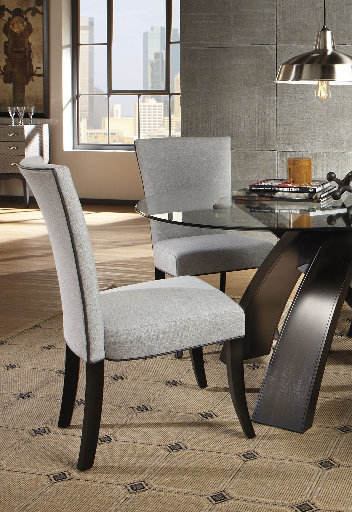 Invigorate An Uninspired Dining Set With A Table That Will Catch Pertaining To Favorite Delmar 5 Piece Dining Sets (View 3 of 20)