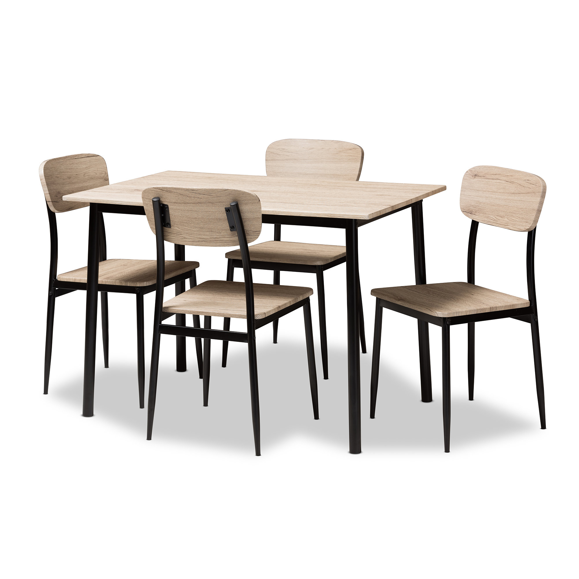Popular Photo of Wiggs 5 Piece Dining Sets