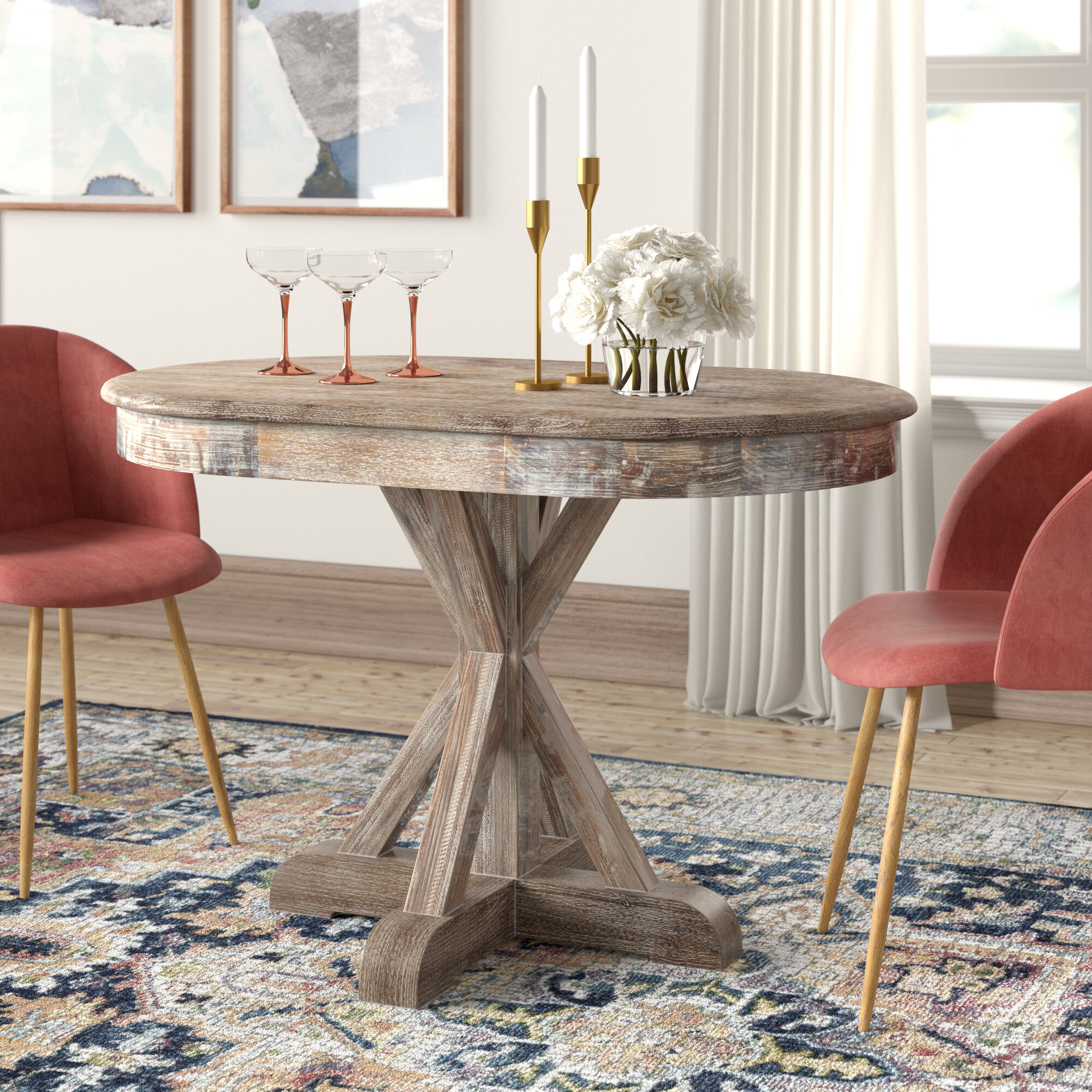 Joss & Main Intended For Linette 5 Piece Dining Table Sets (#5 of 20)