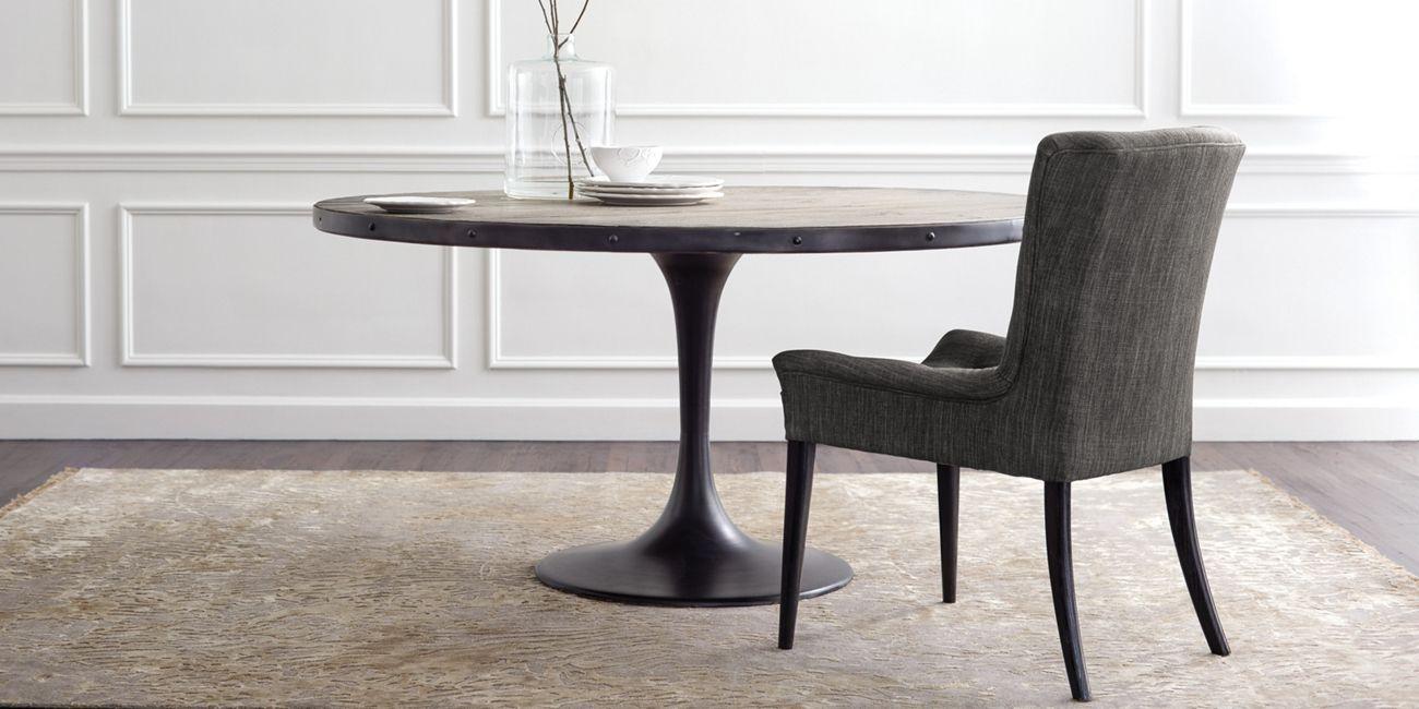 "Kenton 60"" Dining Table In Boardwalk Grey (#6 of 20)"