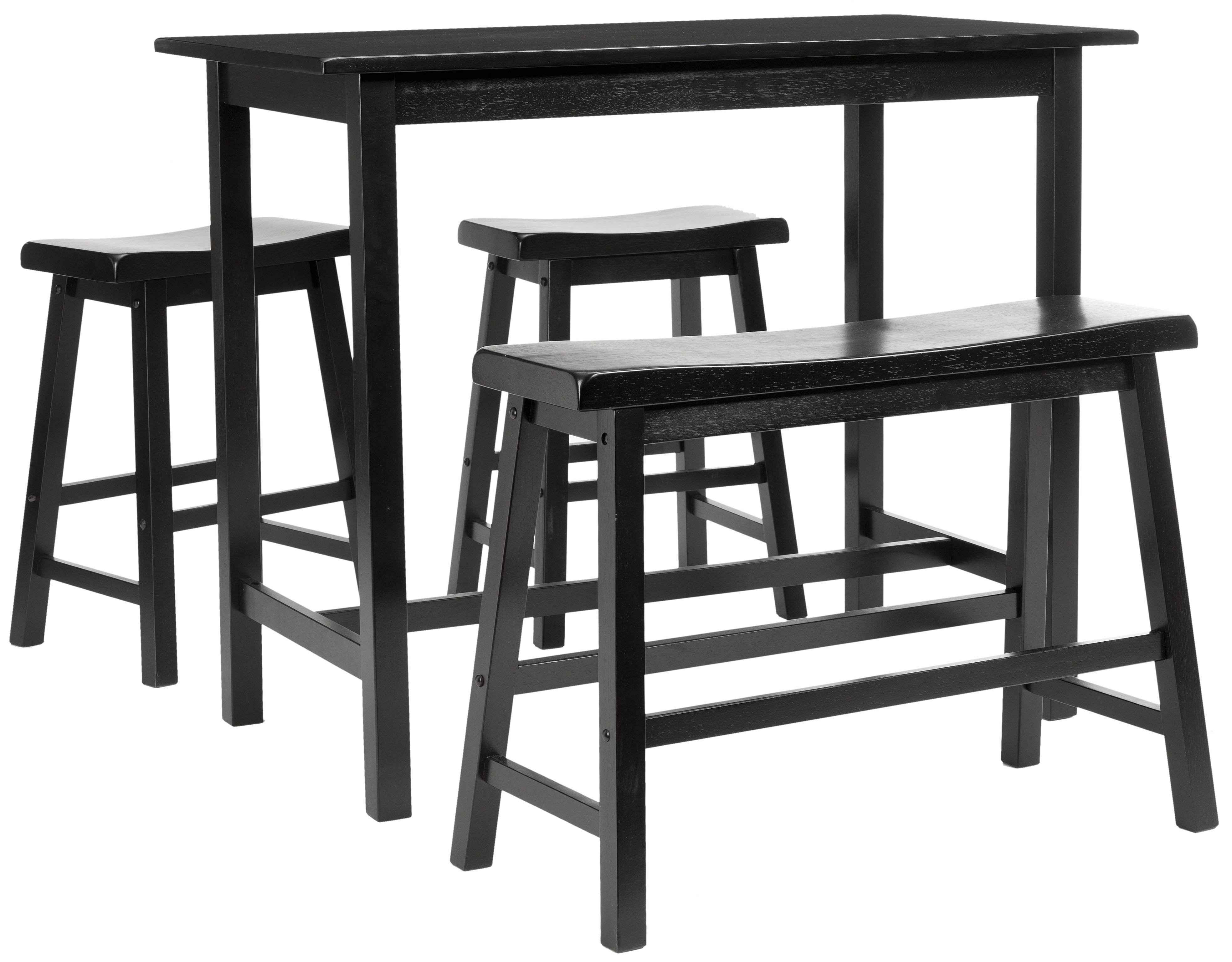Kerley 4 Piece Dining Sets With Well Liked Chelsey 4 Piece Dining Set & Reviews (#8 of 20)