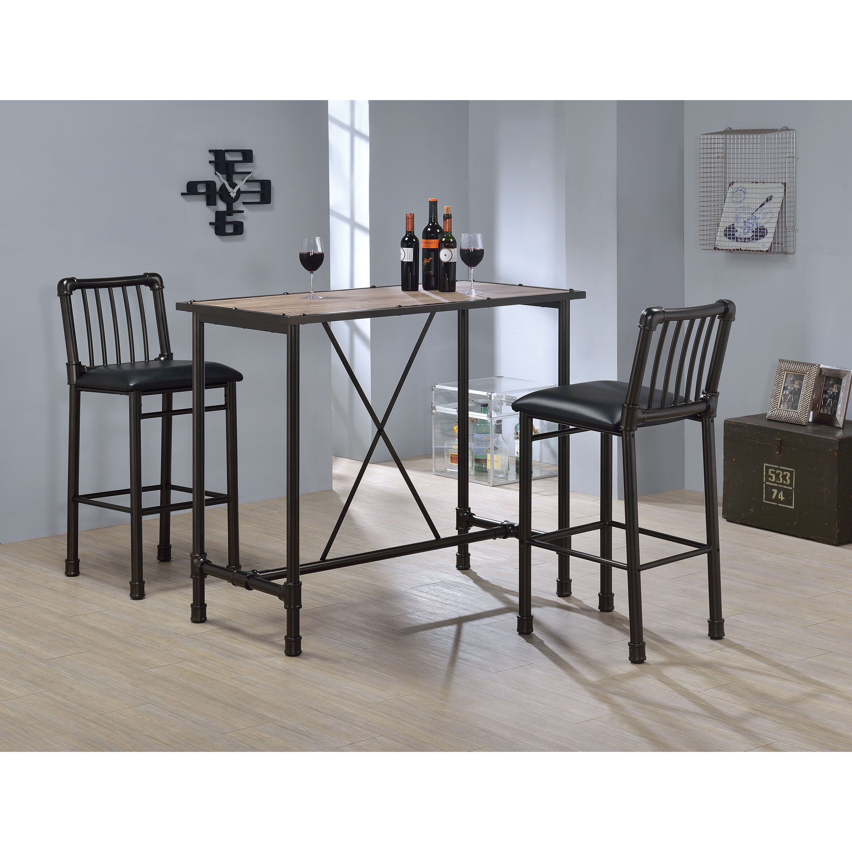 Latest Buy Modern & Contemporary Bar & Pub Tables Online At Overstock (View 7 of 20)