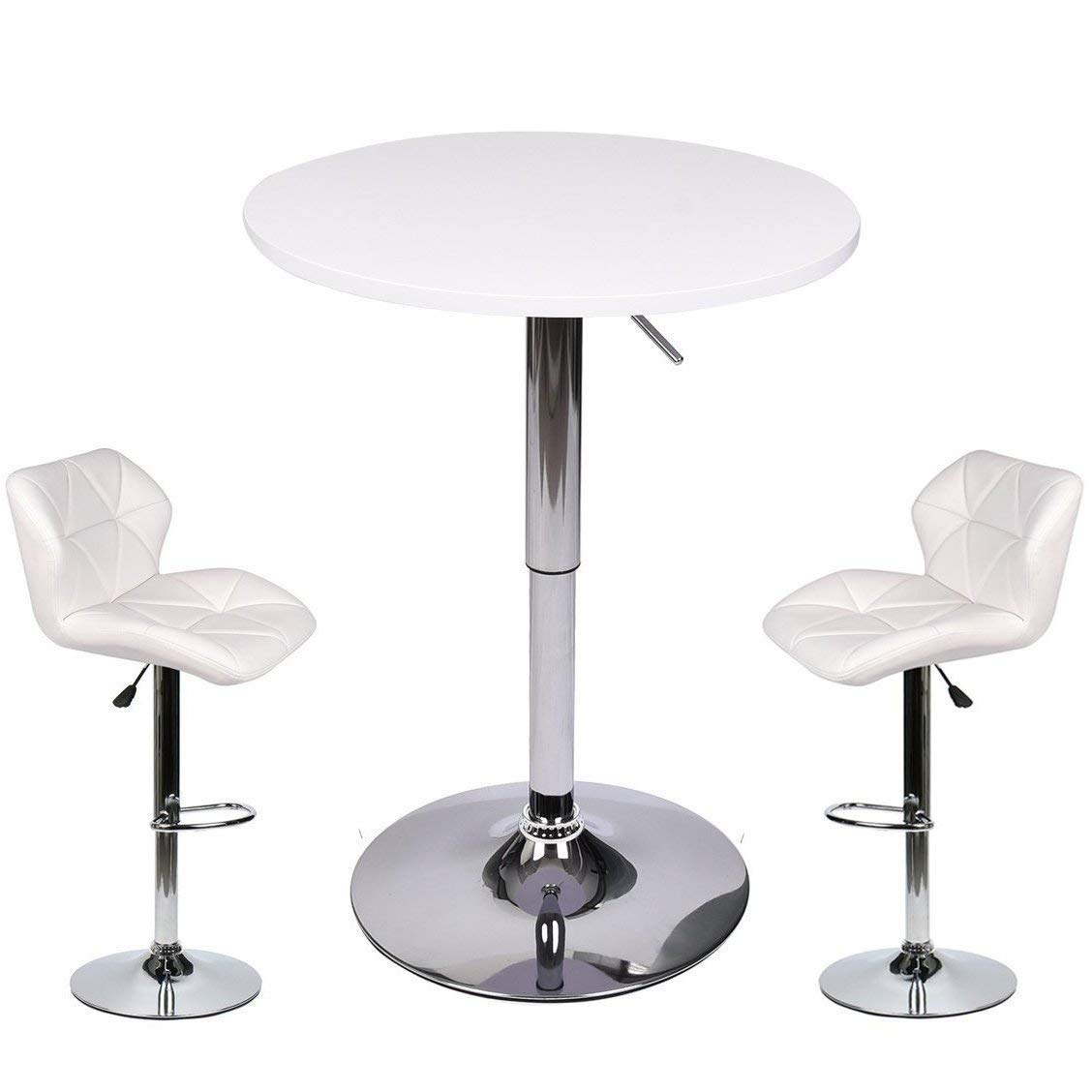 Latest Cheap Pub Table White, Find Pub Table White Deals On Line At Alibaba Throughout Kaya 3 Piece Dining Sets (View 8 of 20)