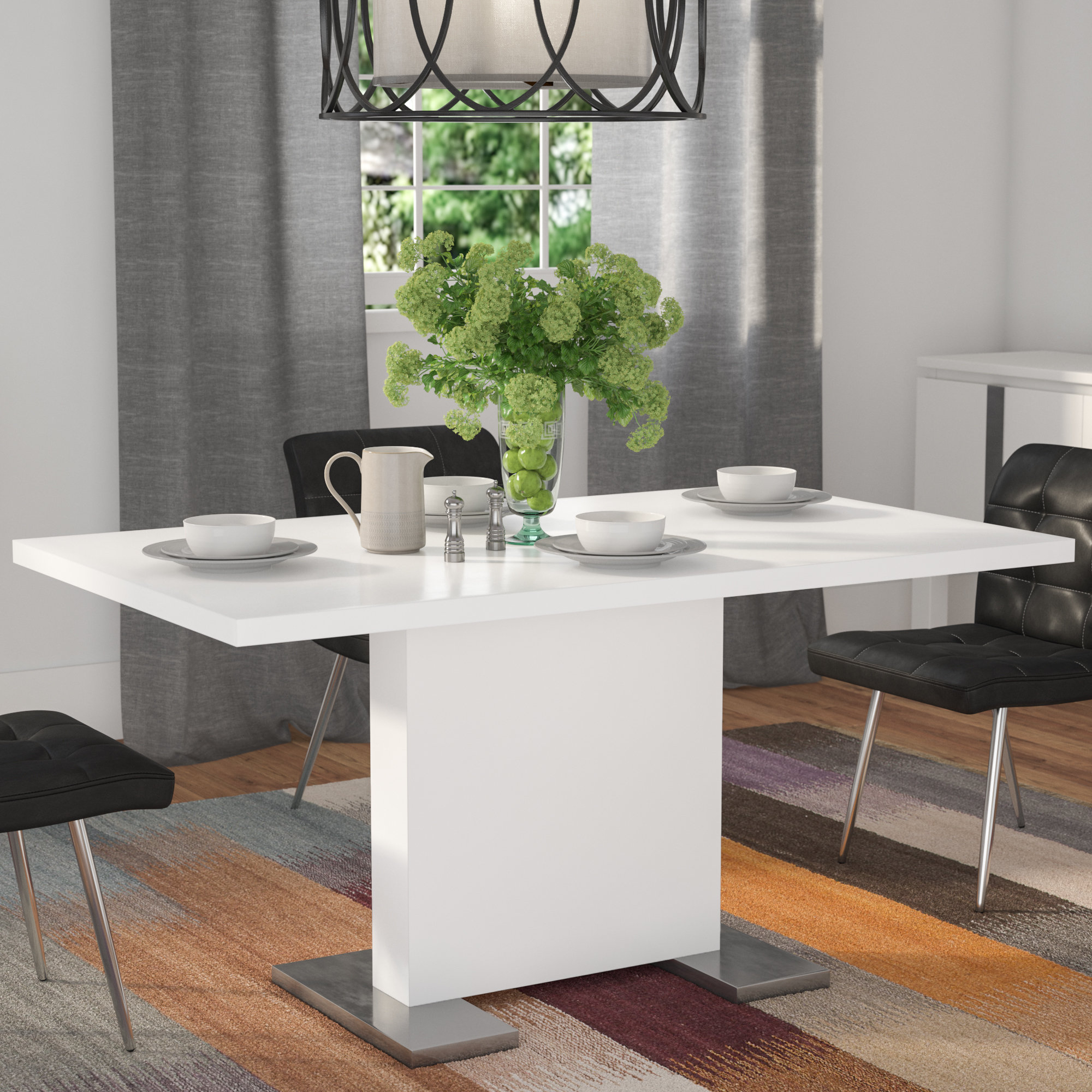 Latest Latitude Run Moorhead Dining Table & Reviews (#5 of 20)