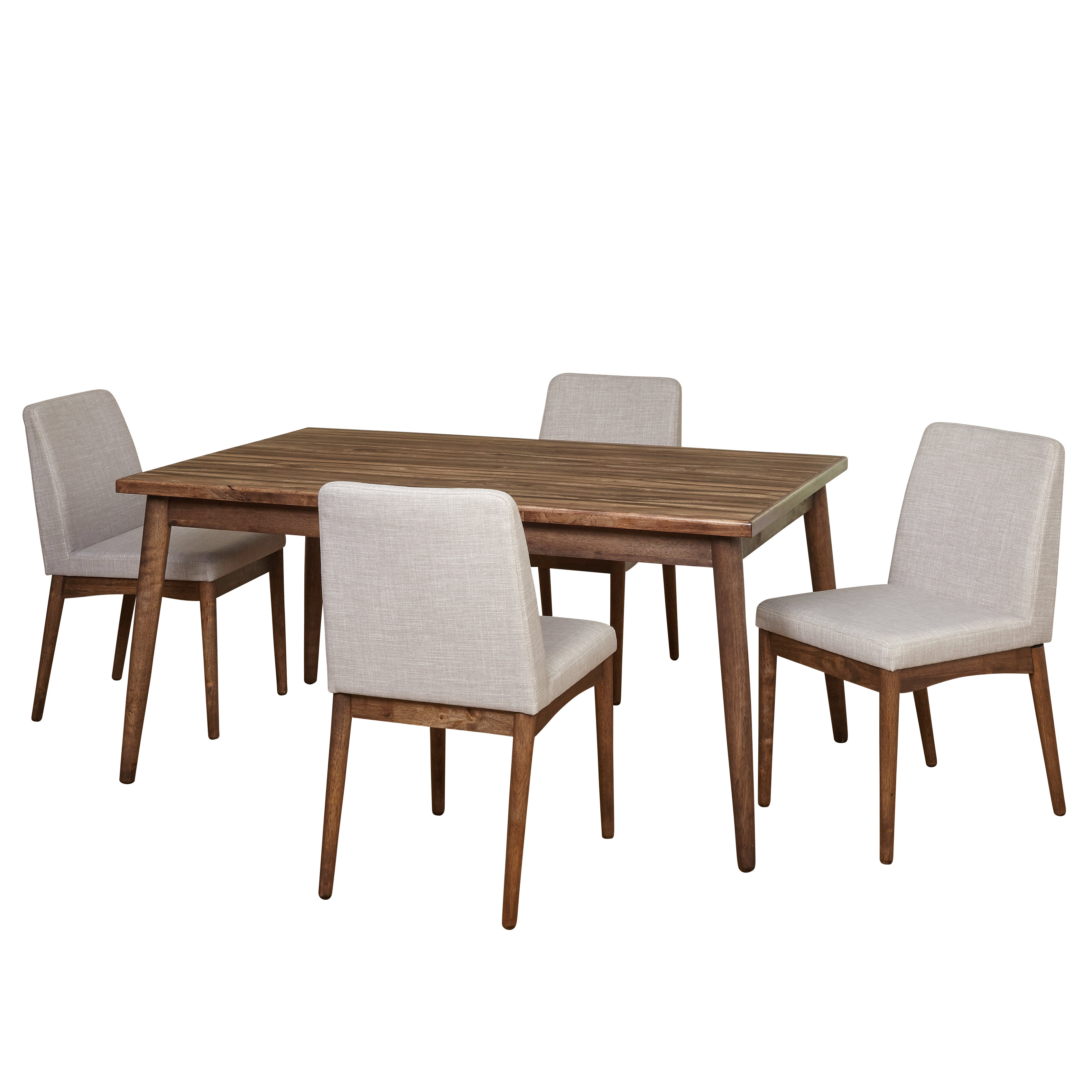 Latest Lydia 5 Piece Dining Set & Reviews (#9 of 20)
