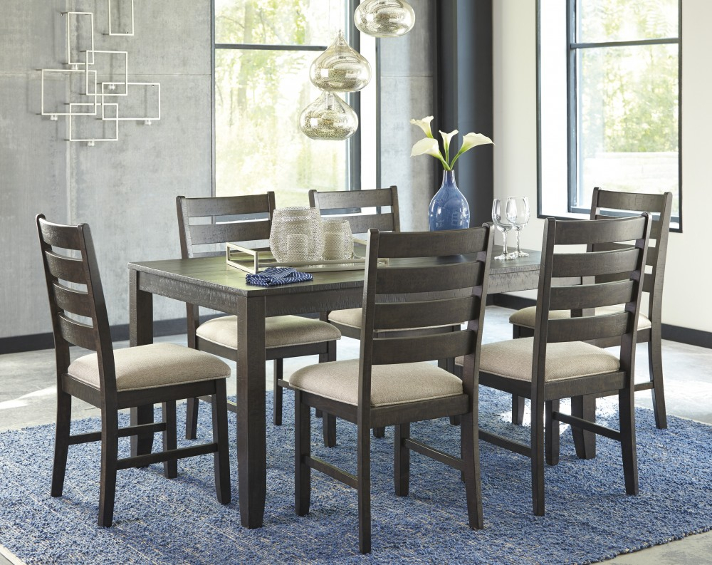 Inspiration about Linette 5 Piece Dining Table Sets Intended For Widely Used Rokane – Brown – Dining Room Table Set (7/cn) (#5 of 20)