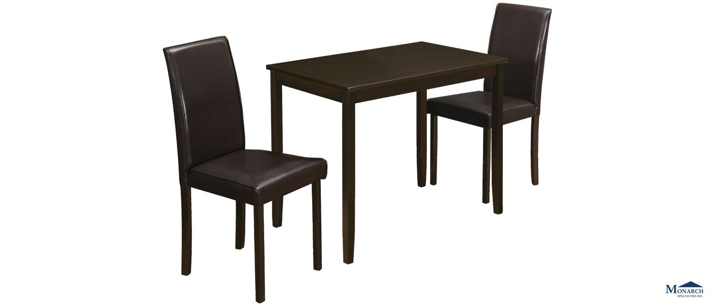 Inspiration about Lonon 3 Piece Dining Sets Throughout Recent Cappuccino 3 Piece Dinette Set London (#1 of 20)