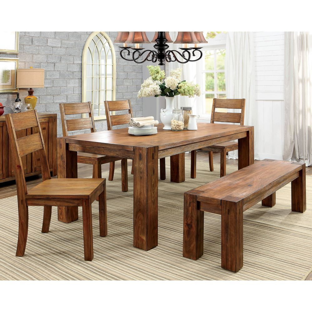 Inspiration about Make Your Dining Area More Inviting With This Rustic Table From Regarding Favorite Casiano 5 Piece Dining Sets (#19 of 20)