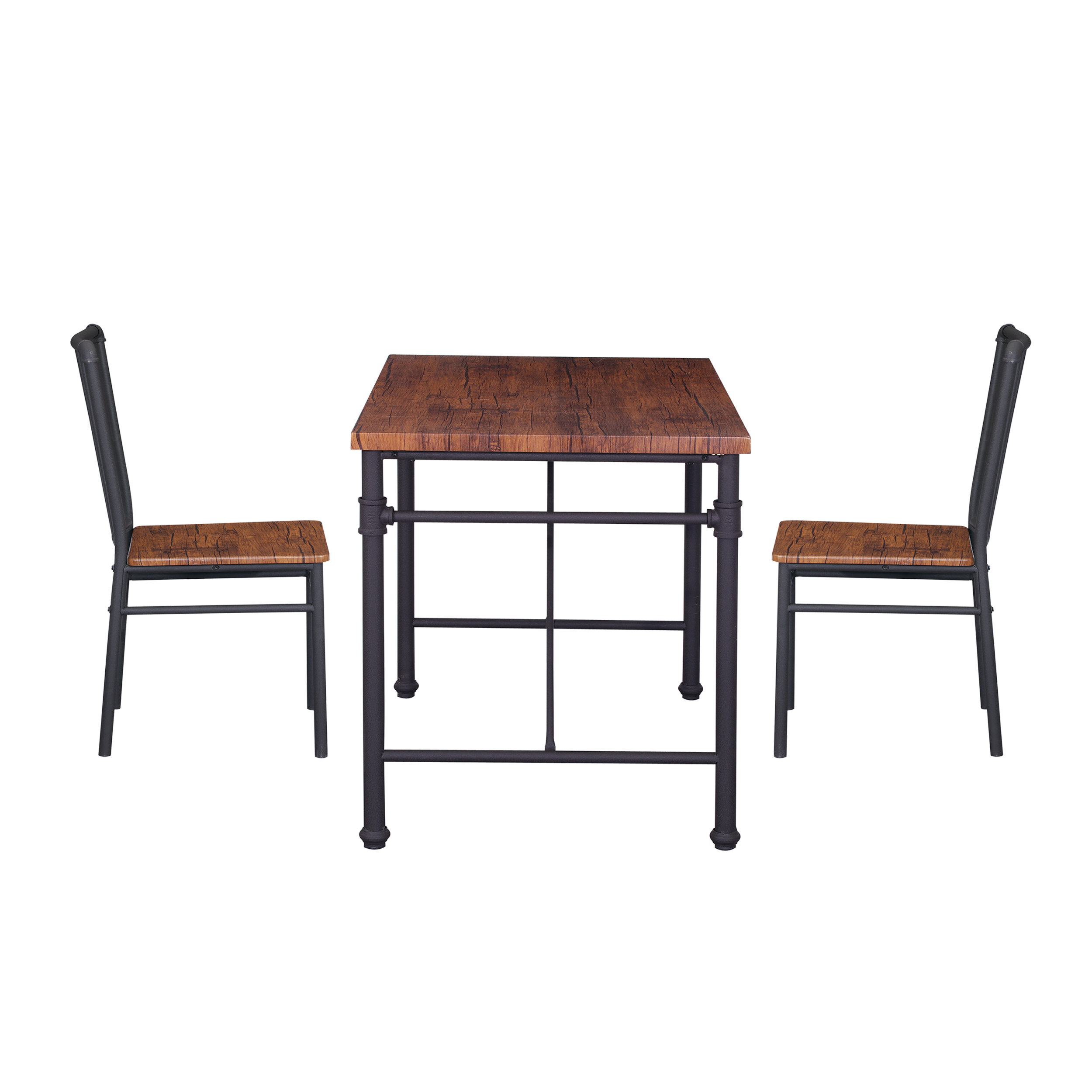 Maloney 3 Piece Breakfast Nook Dining Sets Regarding Most Up To Date Williston Forge Patterson 3 Piece Chairs Set (View 7 of 20)