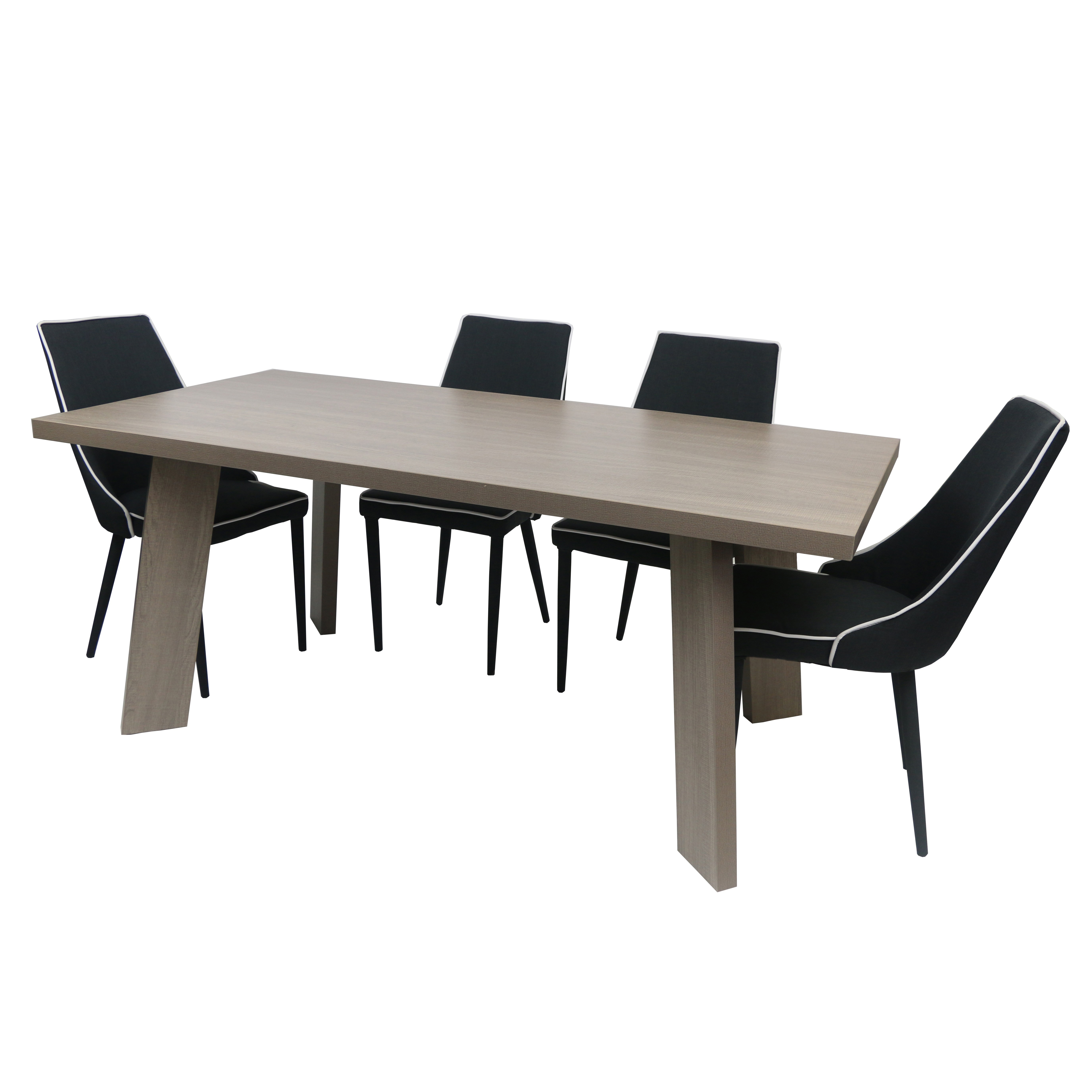 Inspiration about Melamine Dining Table London In 3 Colors Pertaining To 2019 Lonon 3 Piece Dining Sets (#7 of 20)
