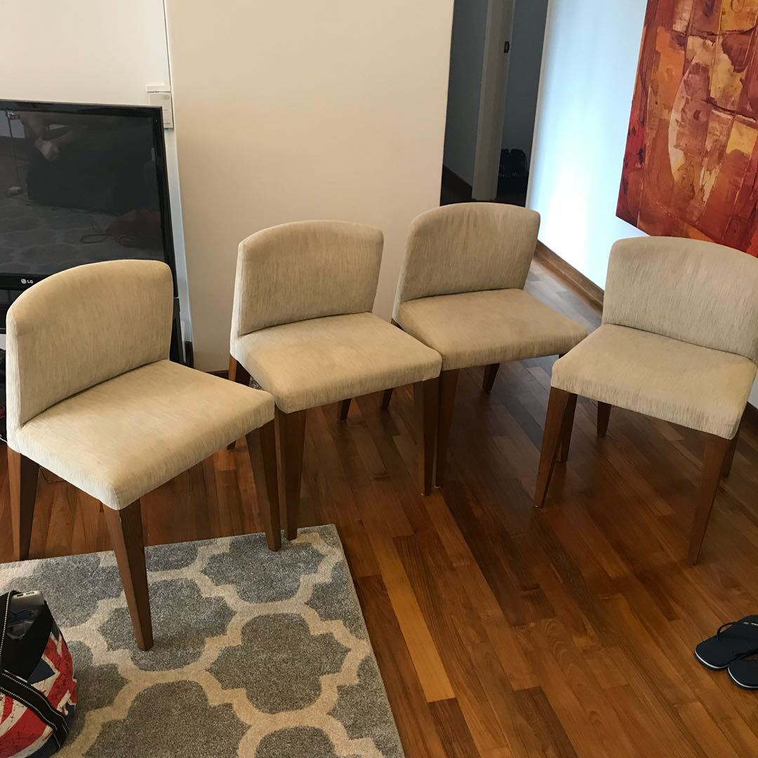 Most Current Dining Room Chair Set (4 Pieces) John Erdos Chairs, Furniture Throughout John 4 Piece Dining Sets (#13 of 20)