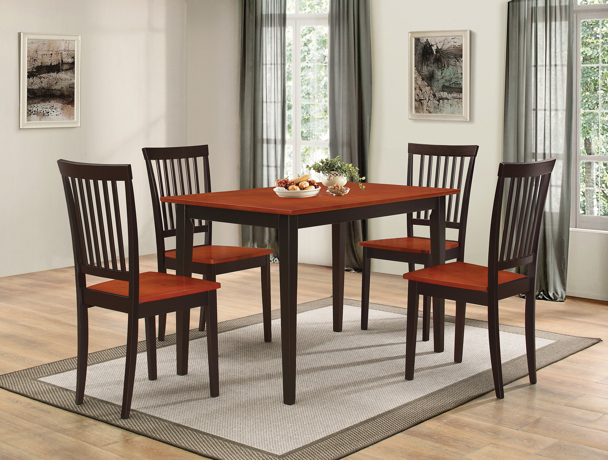 Inspiration about Most Current Pattonsburg 5 Piece Dining Sets Inside Gracie Oaks Pattonsburg 5 Piece Dining Set & Reviews (#1 of 20)