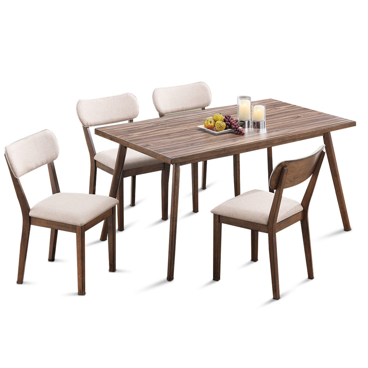 Inspiration about Most Popular George Oliver Eatmon 5 Piece Dining Set (#11 of 20)