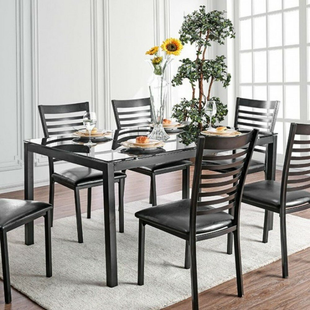 Most Popular Mukai 5 Piece Dining Sets For Winston Porter Mitchell Contemporary 5 Piece Solid Wood Dining Set (#8 of 20)