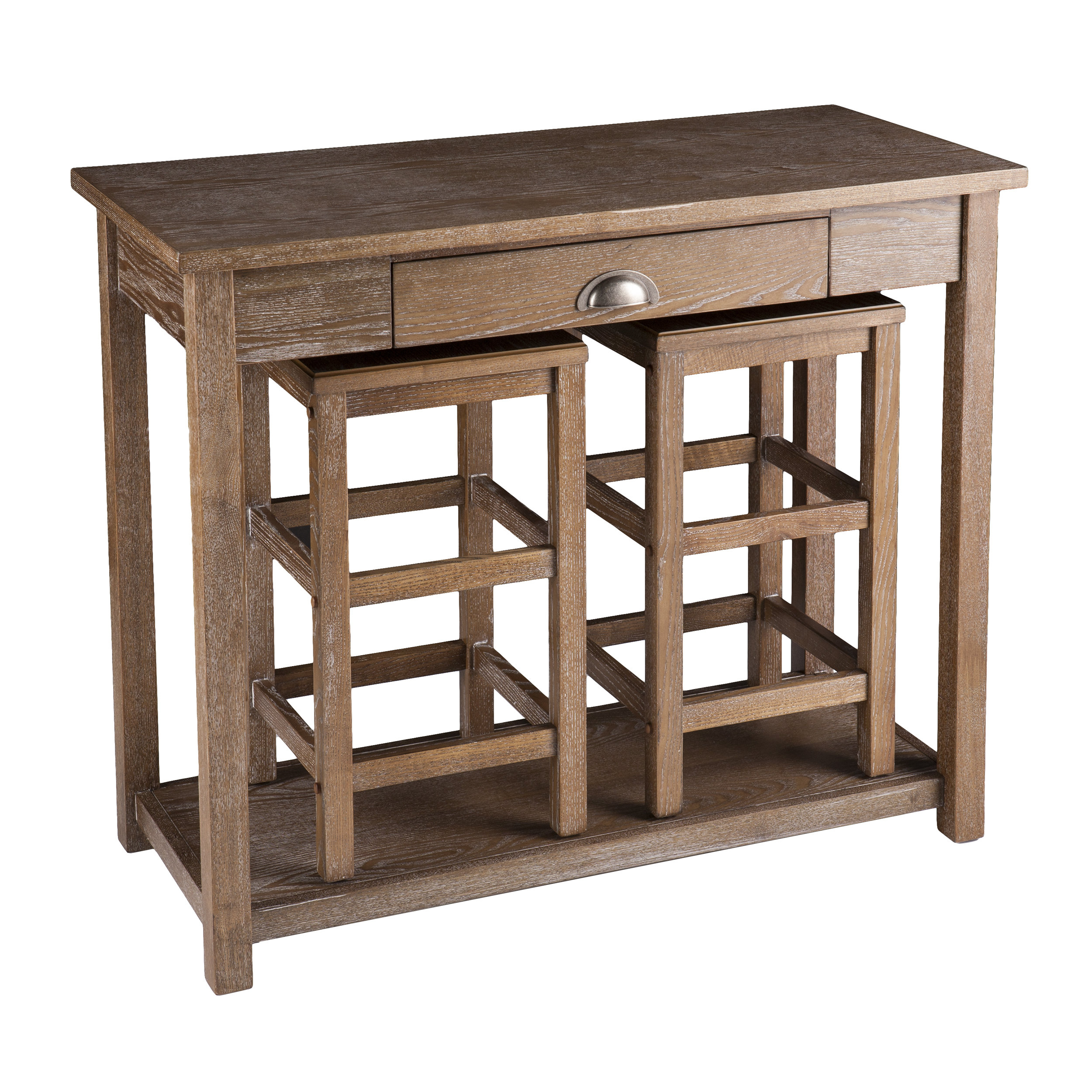 Inspiration about Most Popular Wildon Home® Allen 3 Piece Pub Table Set & Reviews (#7 of 20)