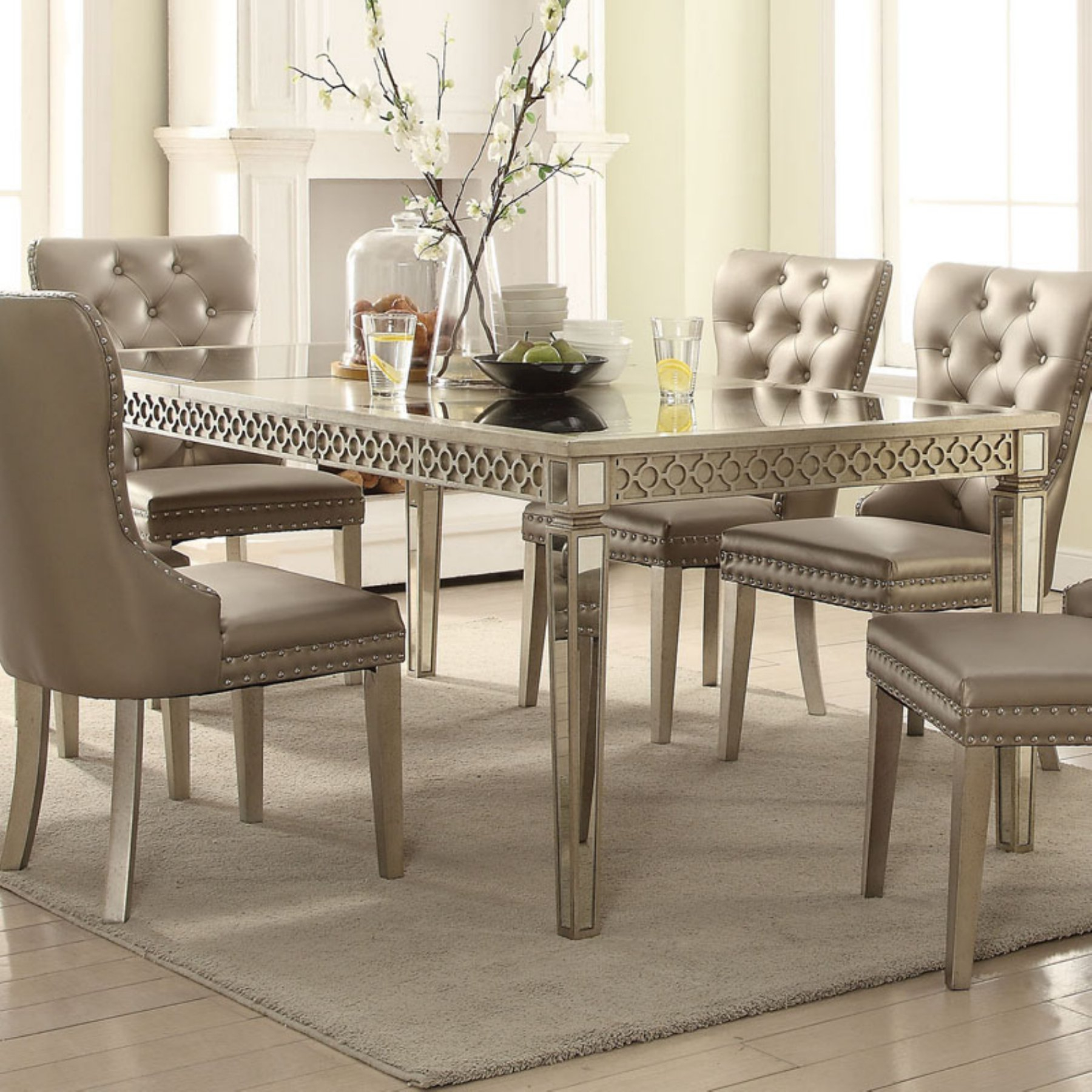 Inspiration about Most Recent Acme Furniture Kacela Extension Dining Table (#3 of 20)