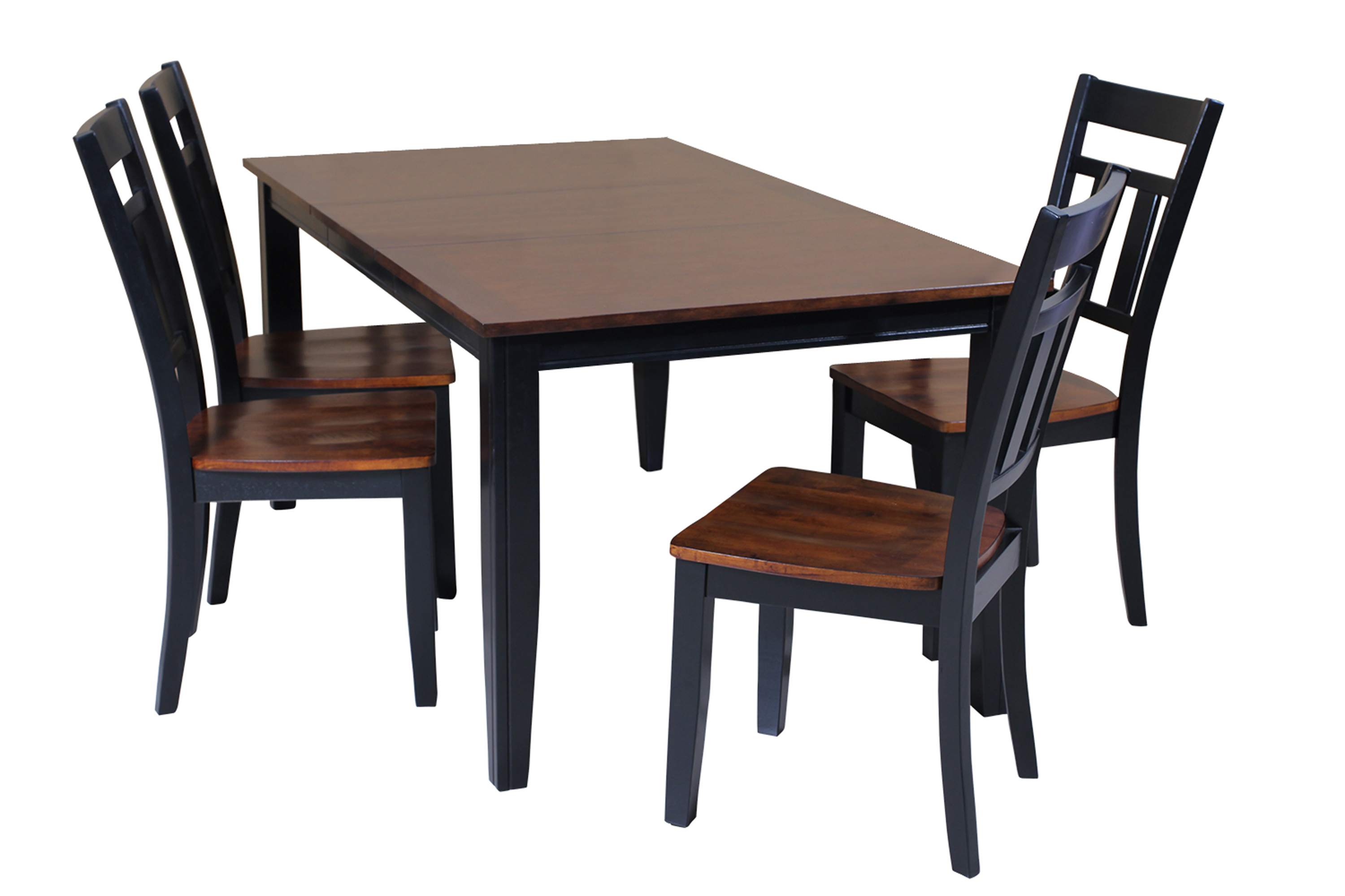 Most Recently Released Adan 5 Piece Solid Wood Dining Sets (Set Of 5) Within Ttp Furnish (#11 of 20)