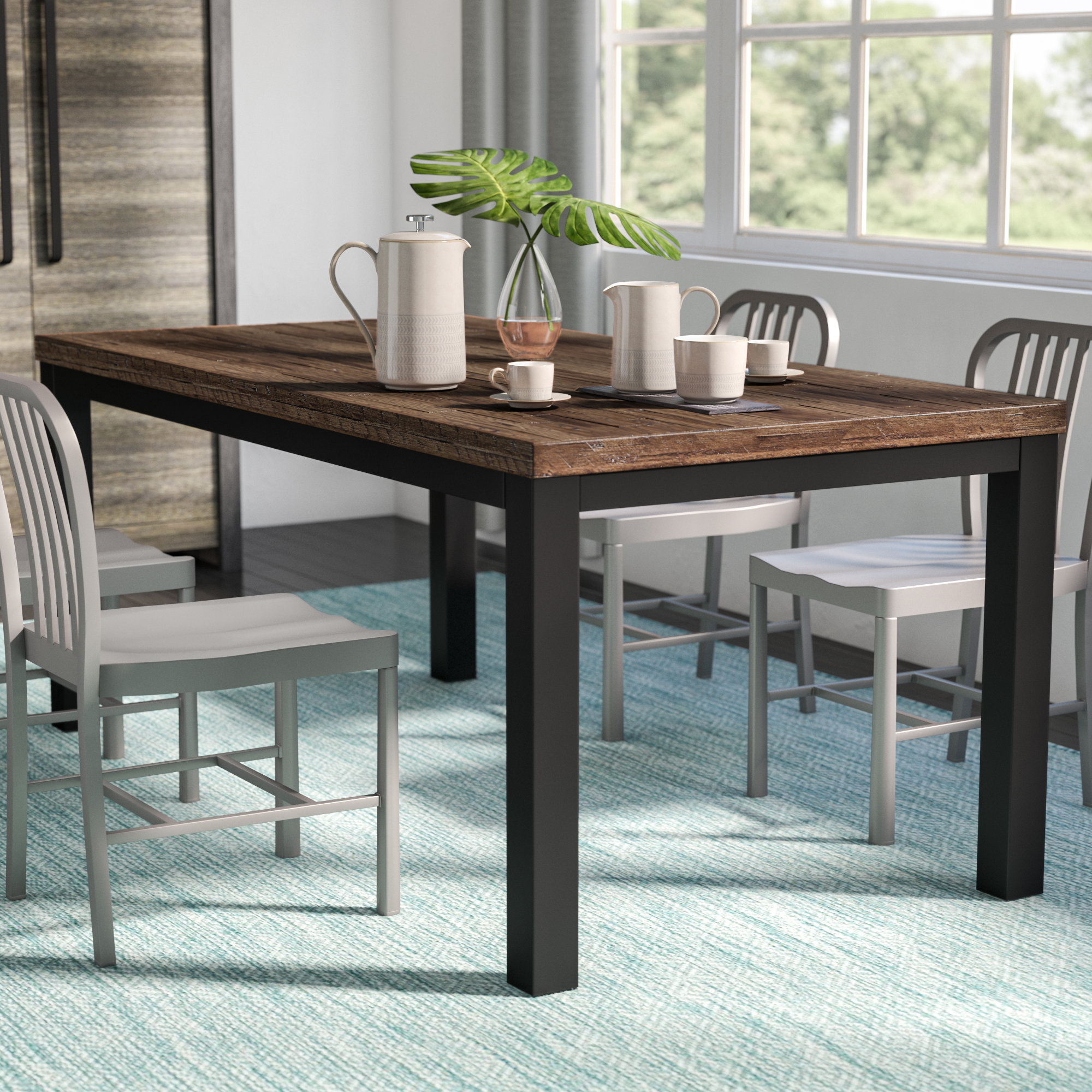 Inspiration about Most Recently Released Langley 5 Piece Dining Set & Reviews (#9 of 20)