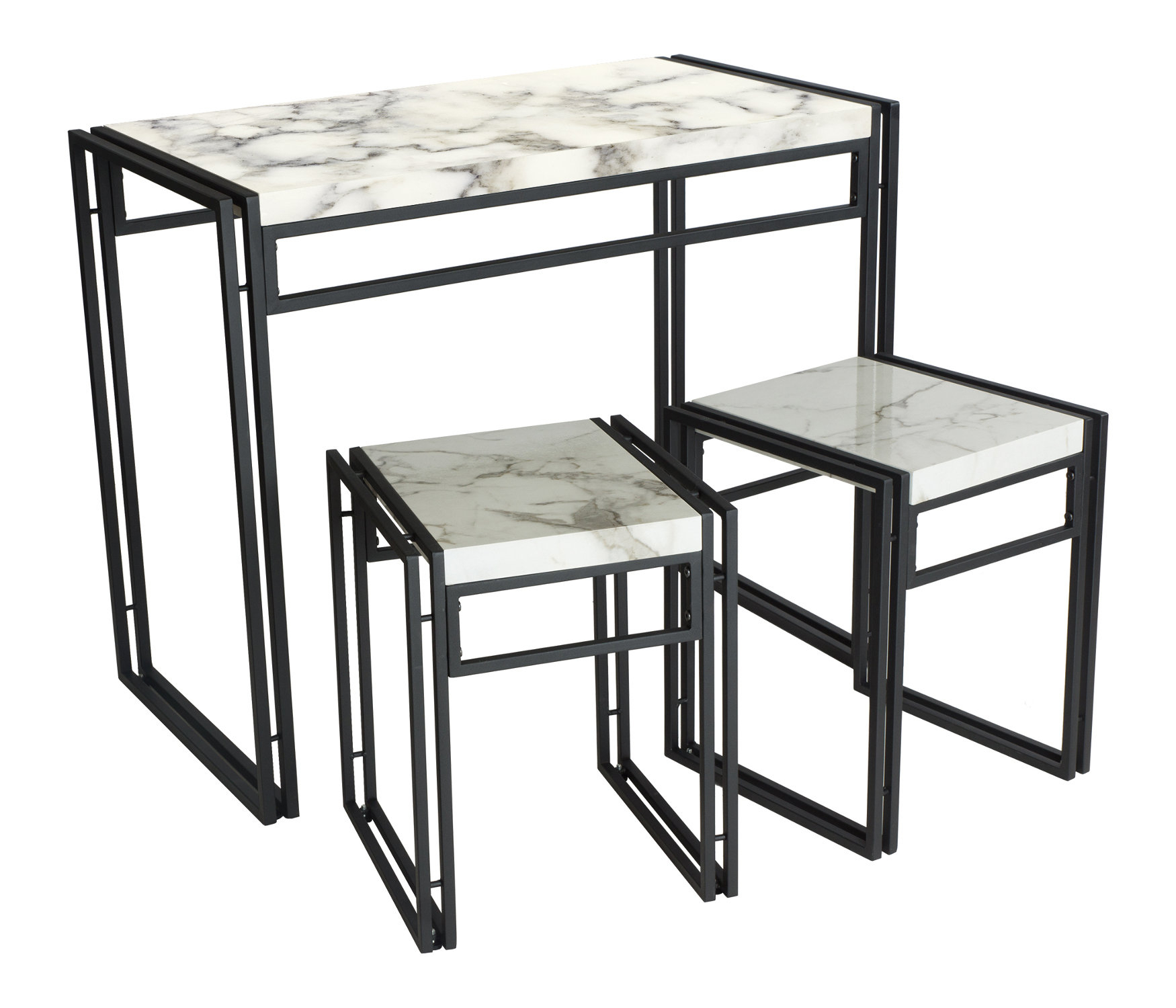 Most Up To Date Debby Small Space 3 Piece Dining Sets For Debby Small Space 3 Piece Dining Set & Reviews (#11 of 20)