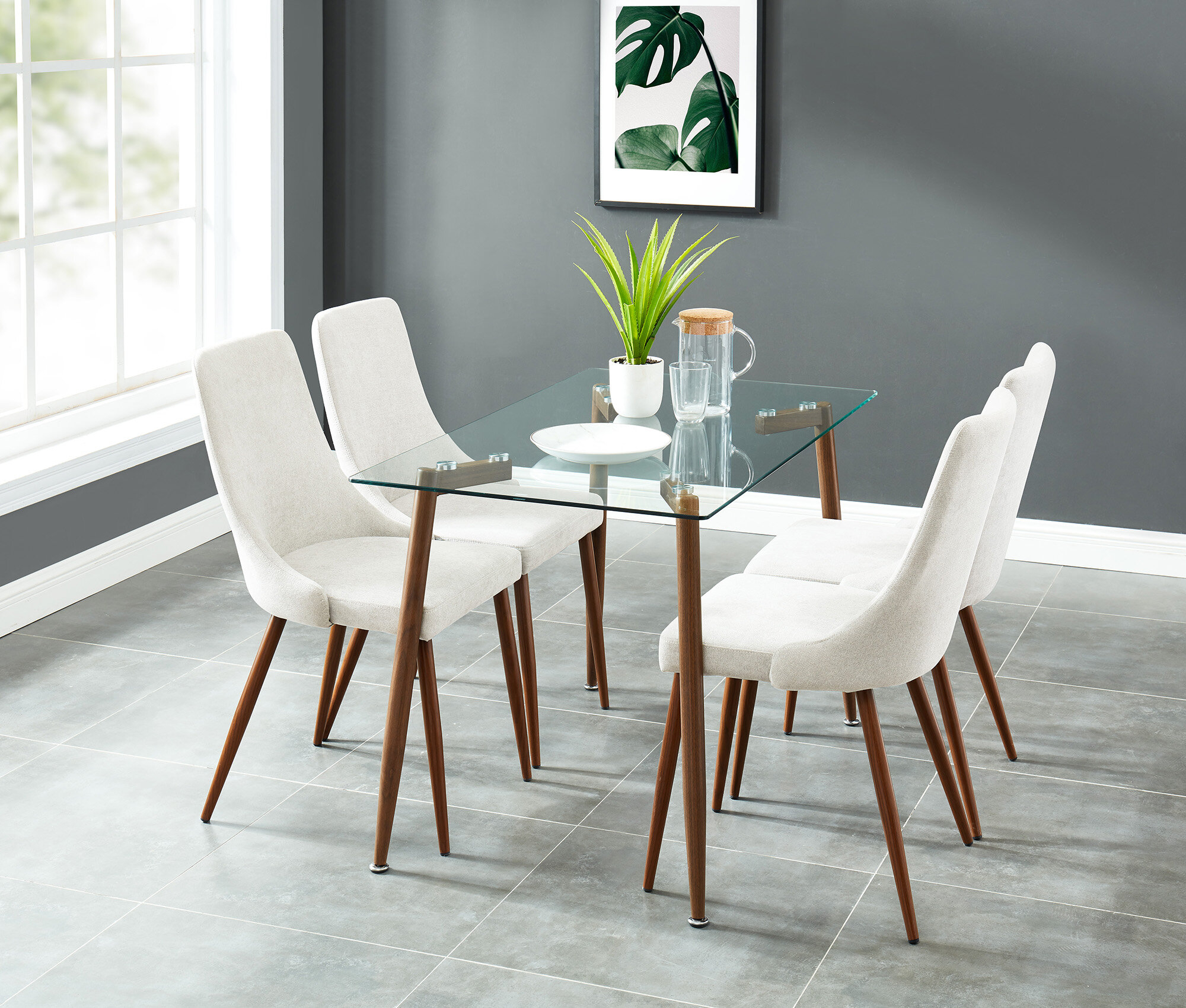 Most Up To Date Ganya 5 Piece Dining Sets Inside Wrought Studio Carmela Contemporary 5 Piece Dining Set (View 14 of 20)