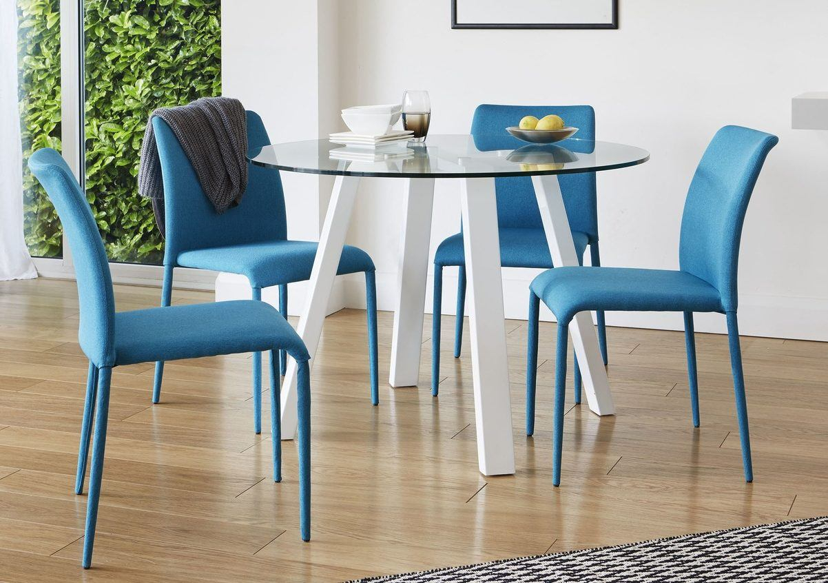 Newest Amir 5 Piece Solid Wood Dining Sets (Set Of 5) Throughout Dining Table Guide: How To Choose The Perfect Dining Table For Your (#10 of 20)