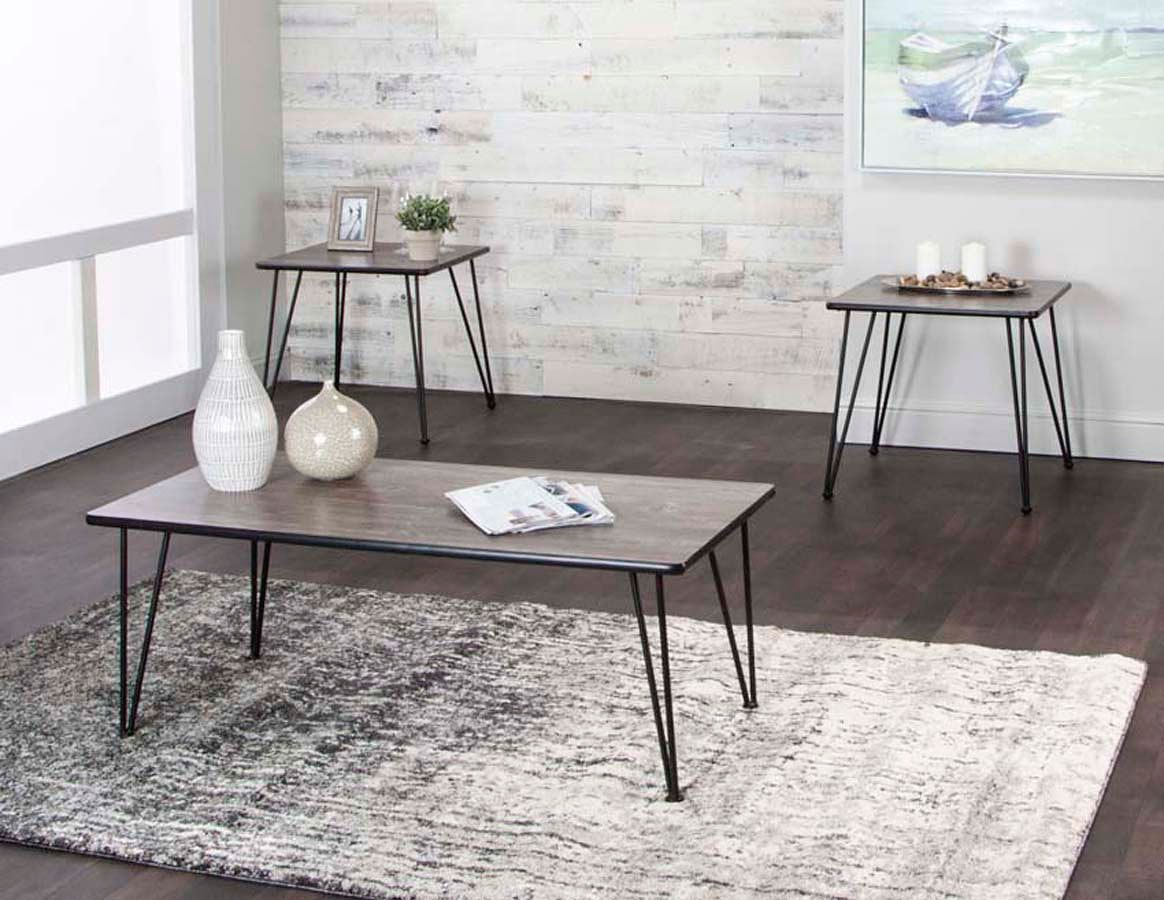 Newest Ryker 3 Piece Dining Sets Within Ryker 3 Piece Vintage Laminate Occasional Table Setcramco (View 13 of 20)