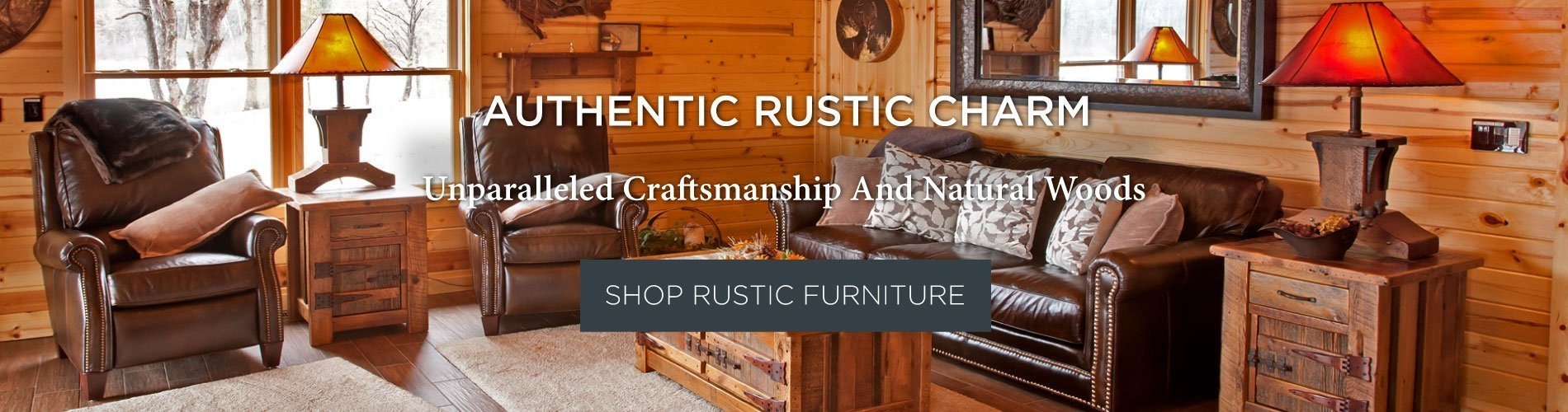 Northwoods 3 Piece Dining Sets Throughout Well Liked Rustic Furniture For Every Taste & Style (#11 of 20)