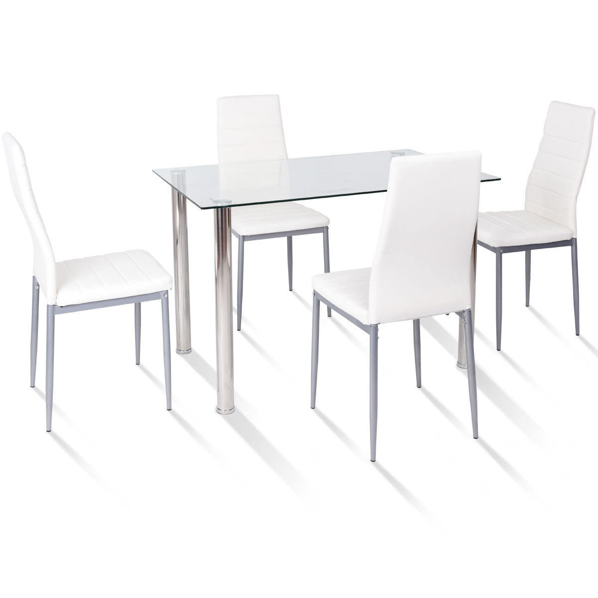 Orren Ellis Travon 5 Piece Dining Set & Reviews (#15 of 20)