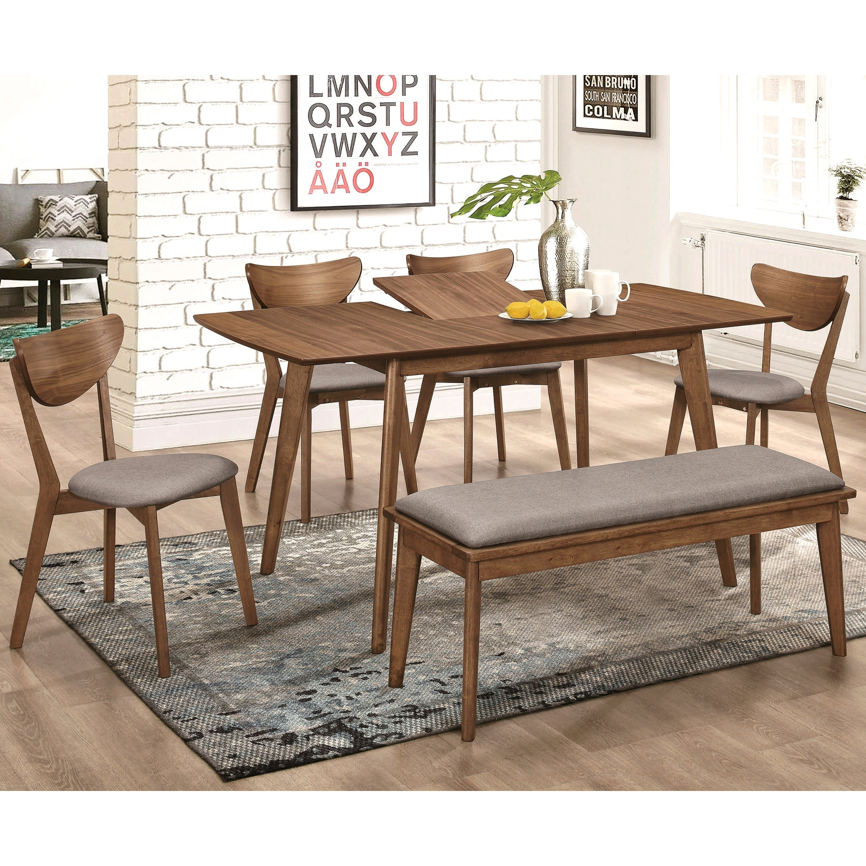 Osterman 6 Piece Extendable Dining Sets (Set Of 6) Intended For Best And Newest Buy 6 Piece Sets Kitchen & Dining Room Sets Online At Overstock (#9 of 20)