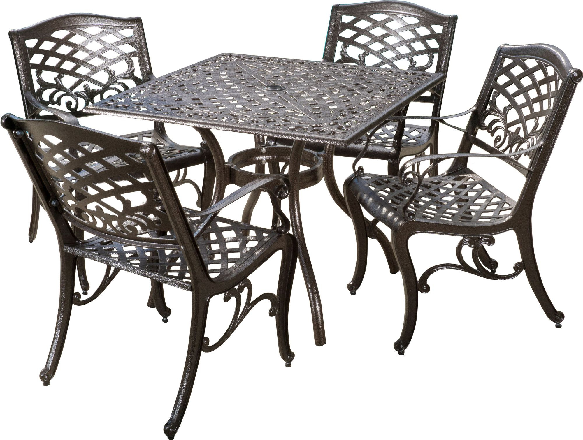 Popular Photo of Tarleton 5 Piece Dining Sets