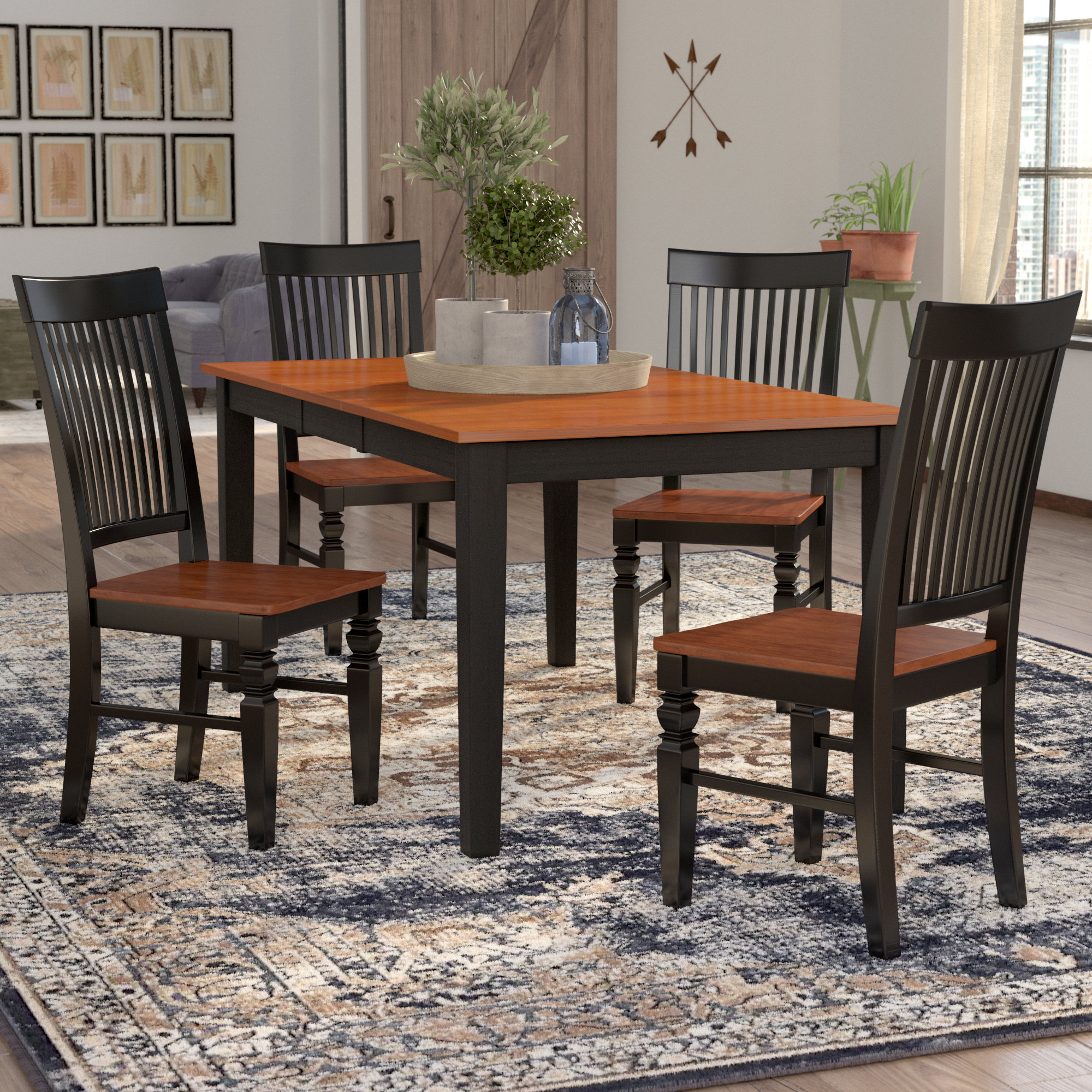 Inspiration about Pattonsburg 5 Piece Dining Sets With Regard To Well Liked August Grove Pillar 5 Piece Extendable Breakfast Nook Dining Set (#16 of 20)