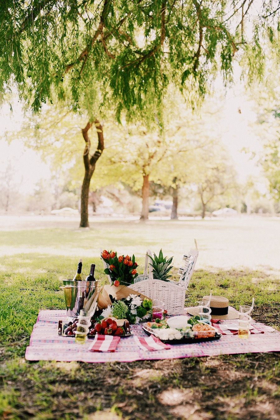 Inspiration about Picnic Style, Beautiful Picnic Set Up, Mom & Son Style, Alexa Chung Throughout Recent Pratiksha Sonoma 5 Piece Dining Sets (#3 of 20)