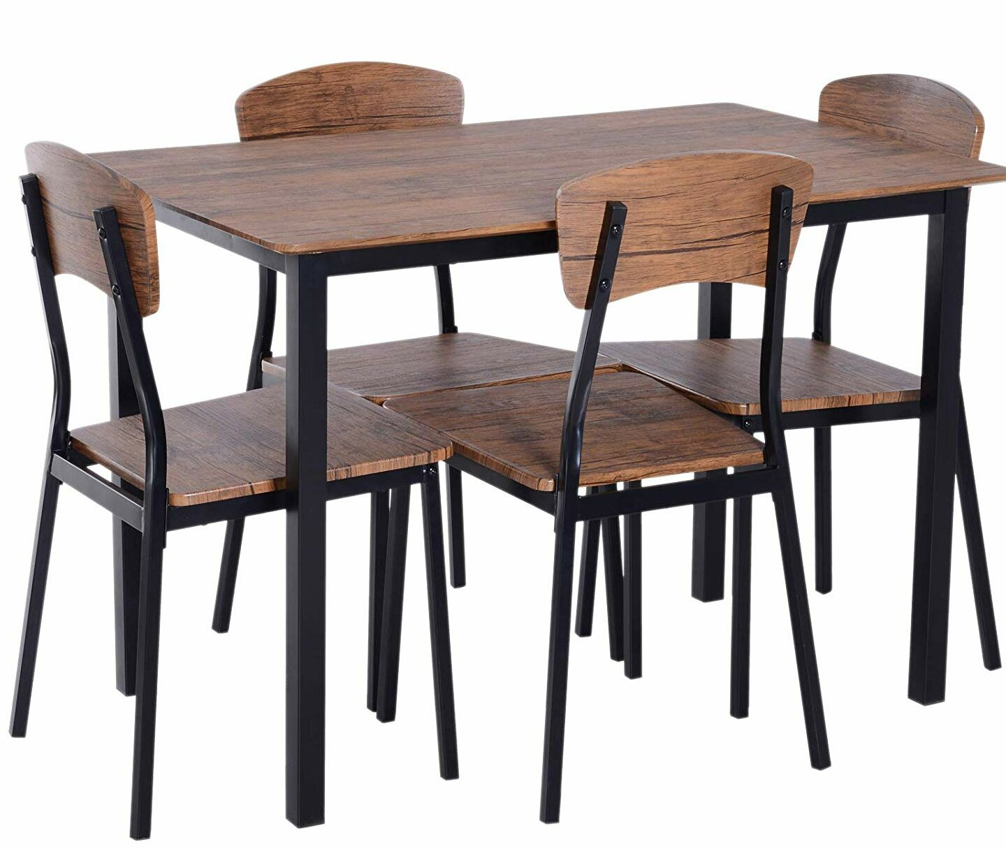 Popular Conover 5 Piece Dining Sets Intended For Union Rustic Castellanos Modern 5 Piece Counter Height Dining Set (#11 of 20)