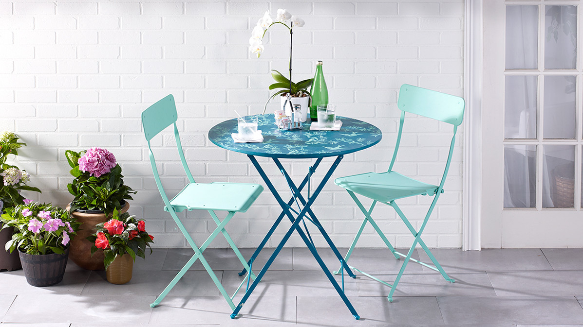 Popular Debby Small Space 3 Piece Dining Sets Inside Remarkable Deal On Atlantic Small Space 3 Pc Dining Set, Wood (#12 of 20)