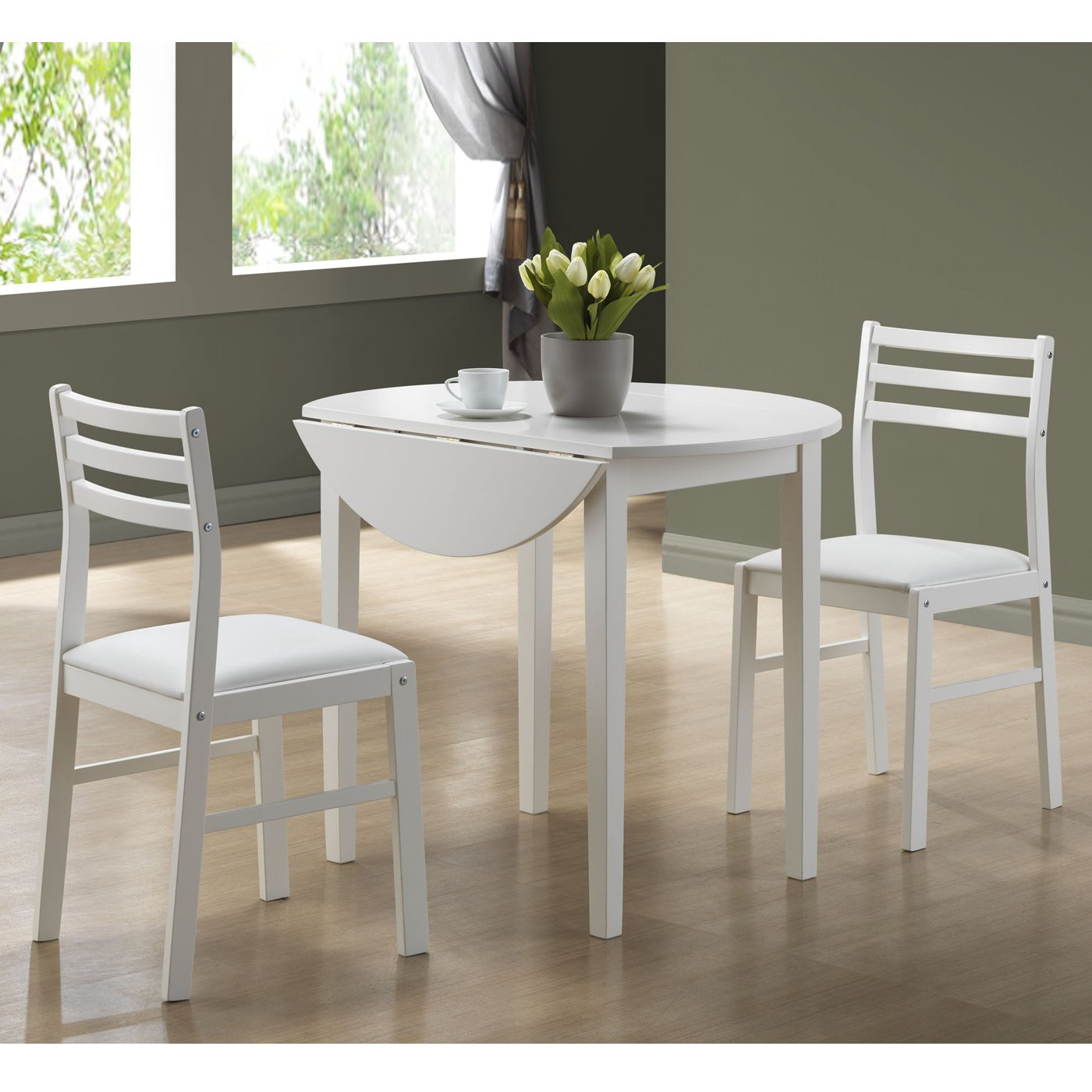 Popular Monarch Specialties 3 Piece Dining Table Set (#15 of 20)