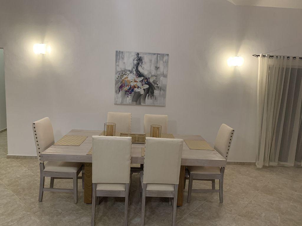 Inspiration about Popular Tavarez 5 Piece Dining Sets Within Luxury Sosua Villa 110 3Br 2B – Urbanizacion Tavarez (#19 of 20)
